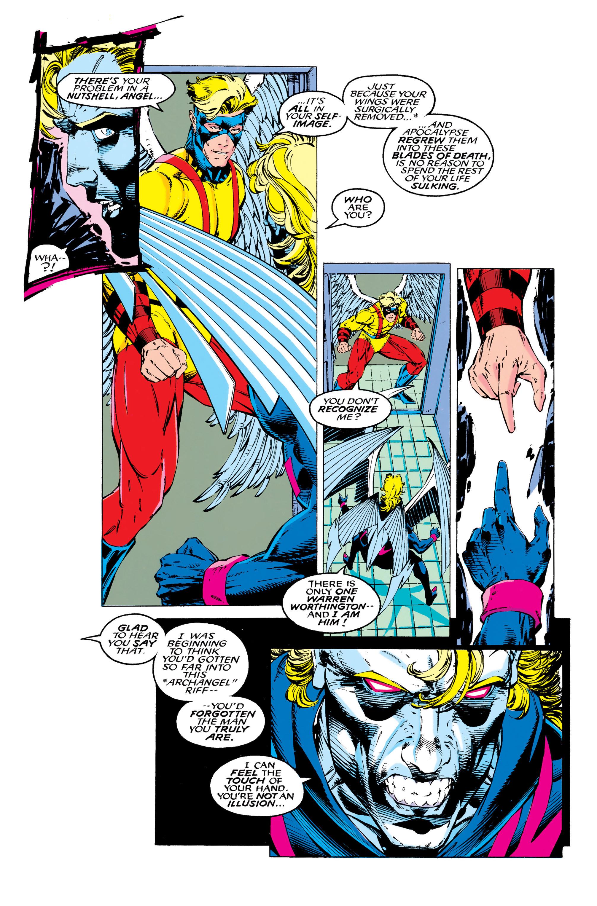 Read online Uncanny X-Men (1963) comic -  Issue #289 - 10