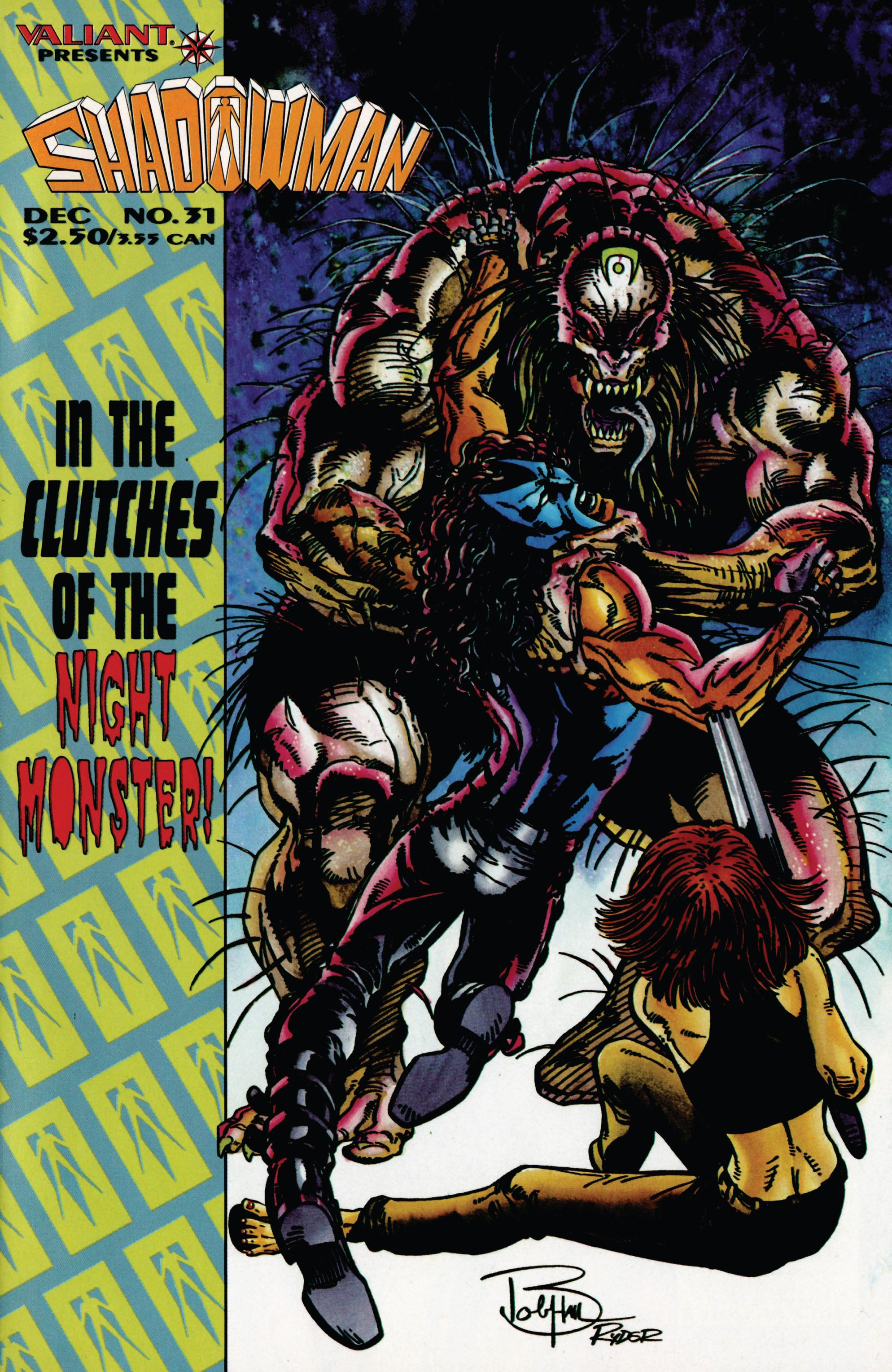 Read online Shadowman (1992) comic -  Issue #31 - 1