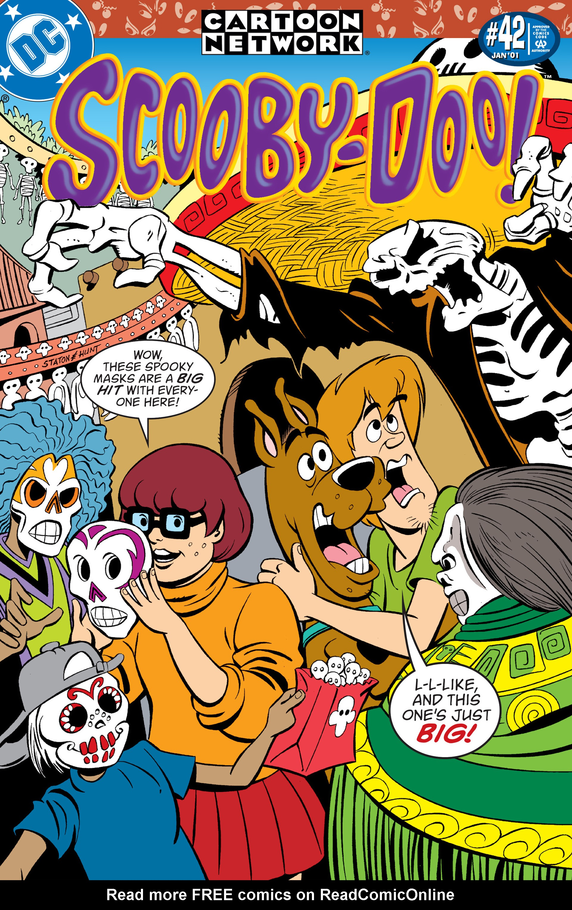 Read online Scooby-Doo (1997) comic -  Issue #42 - 1