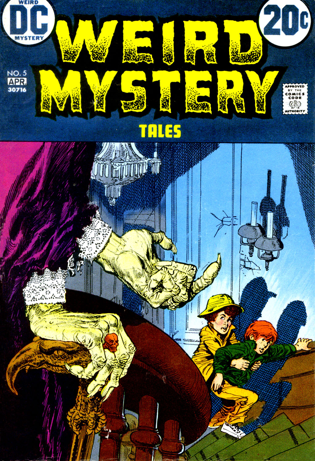 Weird Mystery Tales issue 5 - Page 1