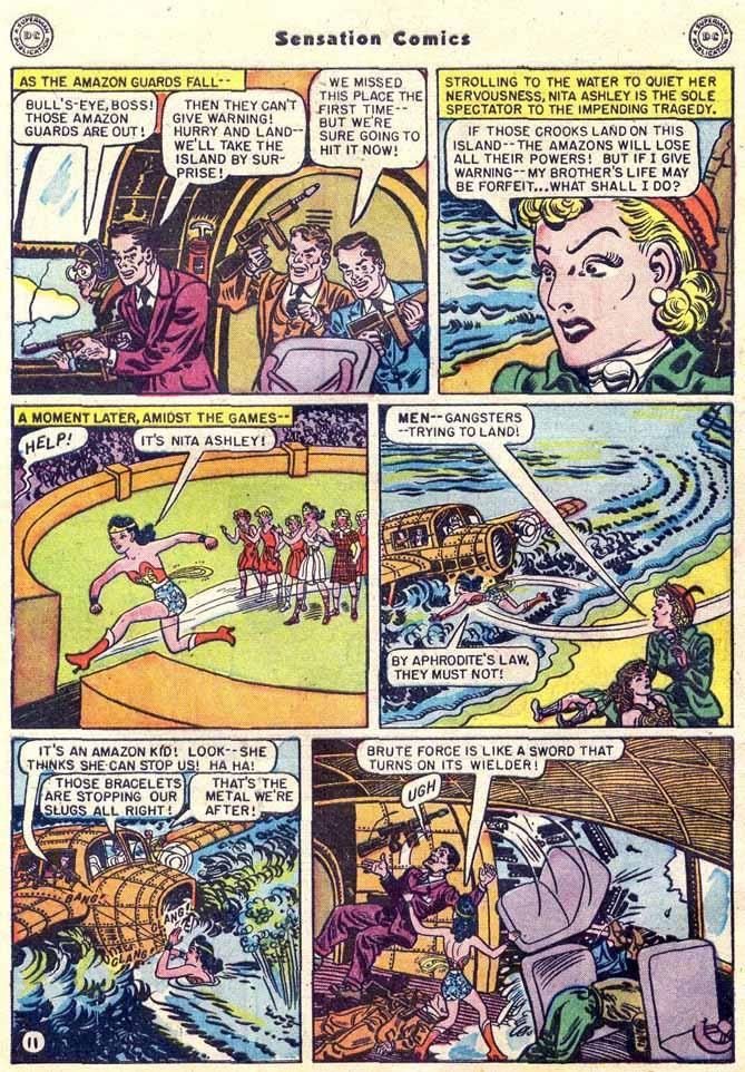 Read online Sensation (Mystery) Comics comic -  Issue #89 - 13