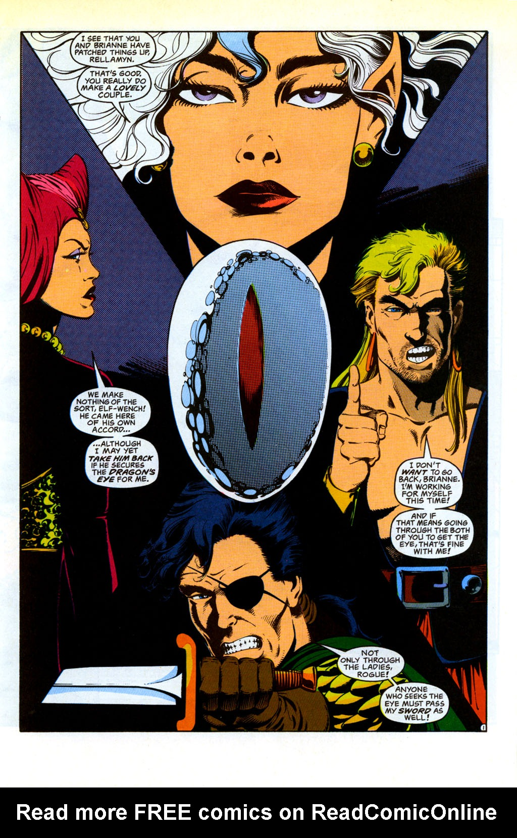 Read online Advanced Dungeons & Dragons comic -  Issue #30 - 2