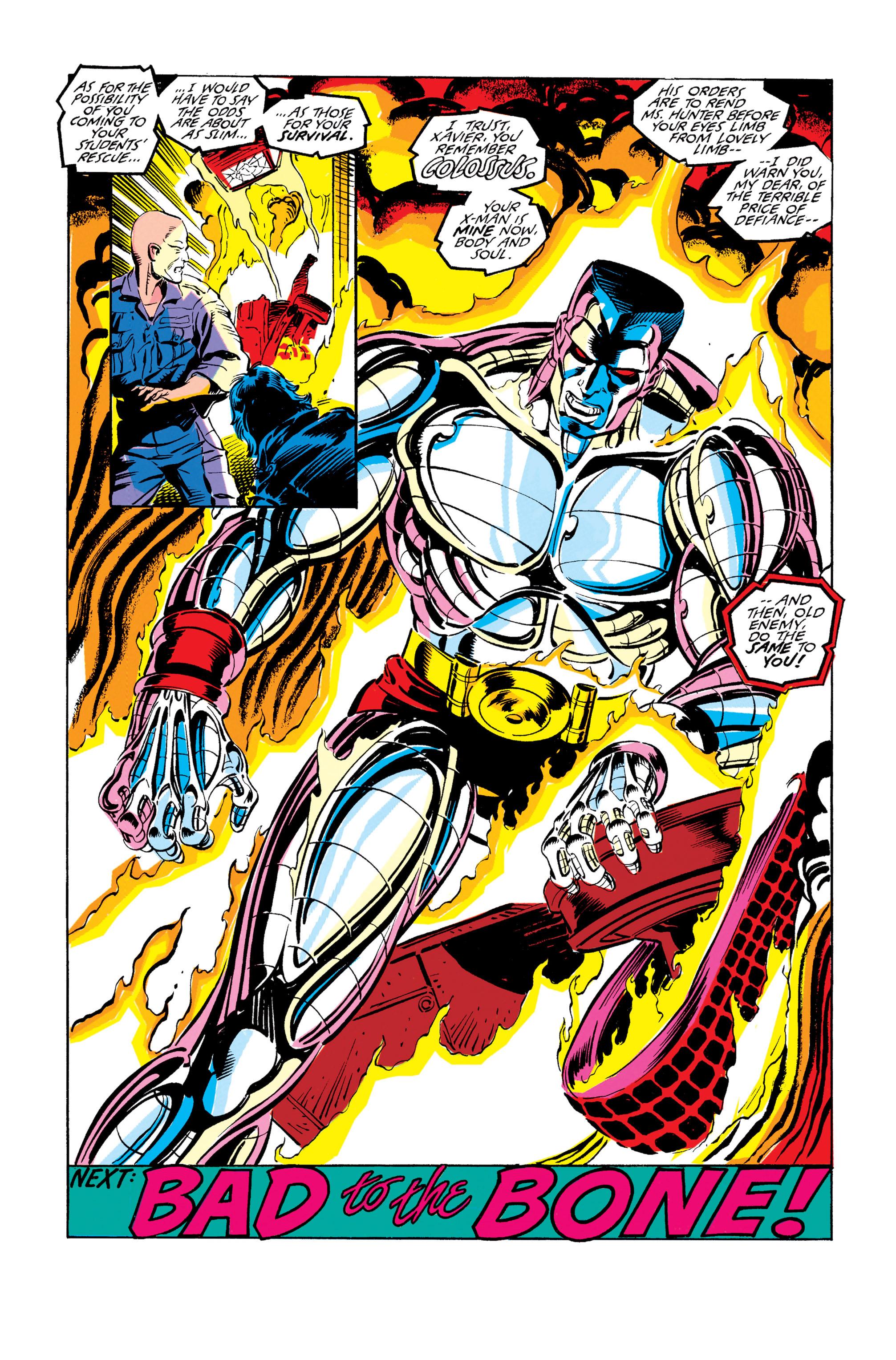 Read online Uncanny X-Men (1963) comic -  Issue #278 - 24