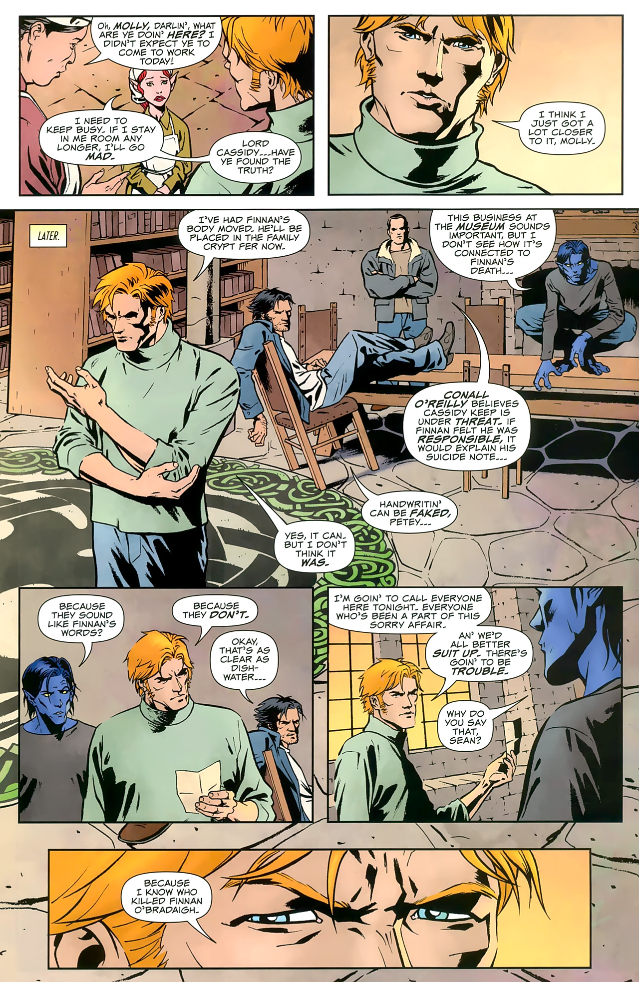 Read online Uncanny X-Men: First Class comic -  Issue #8 - 11