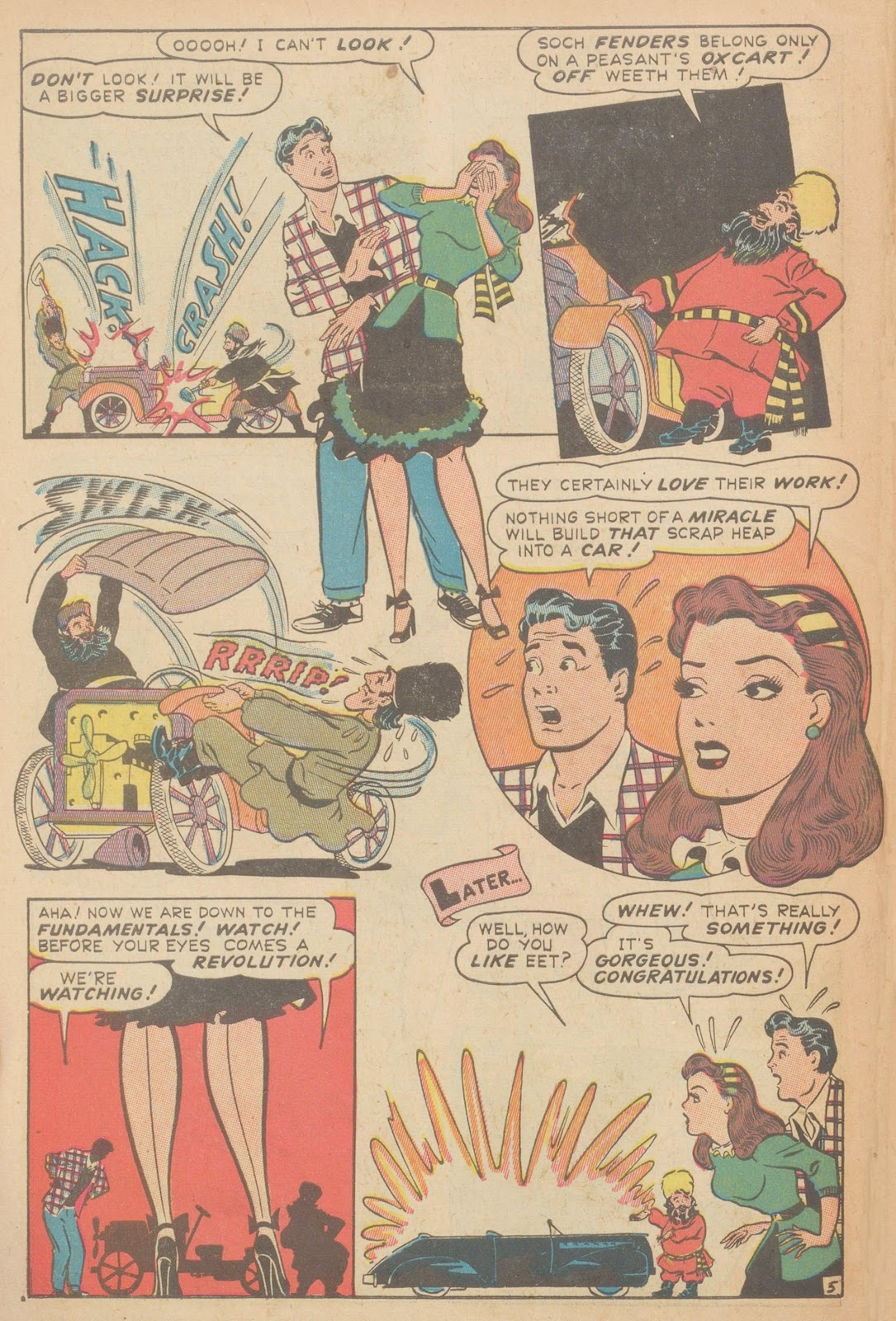 Read online Nellie The Nurse (1945) comic -  Issue #11 - 46
