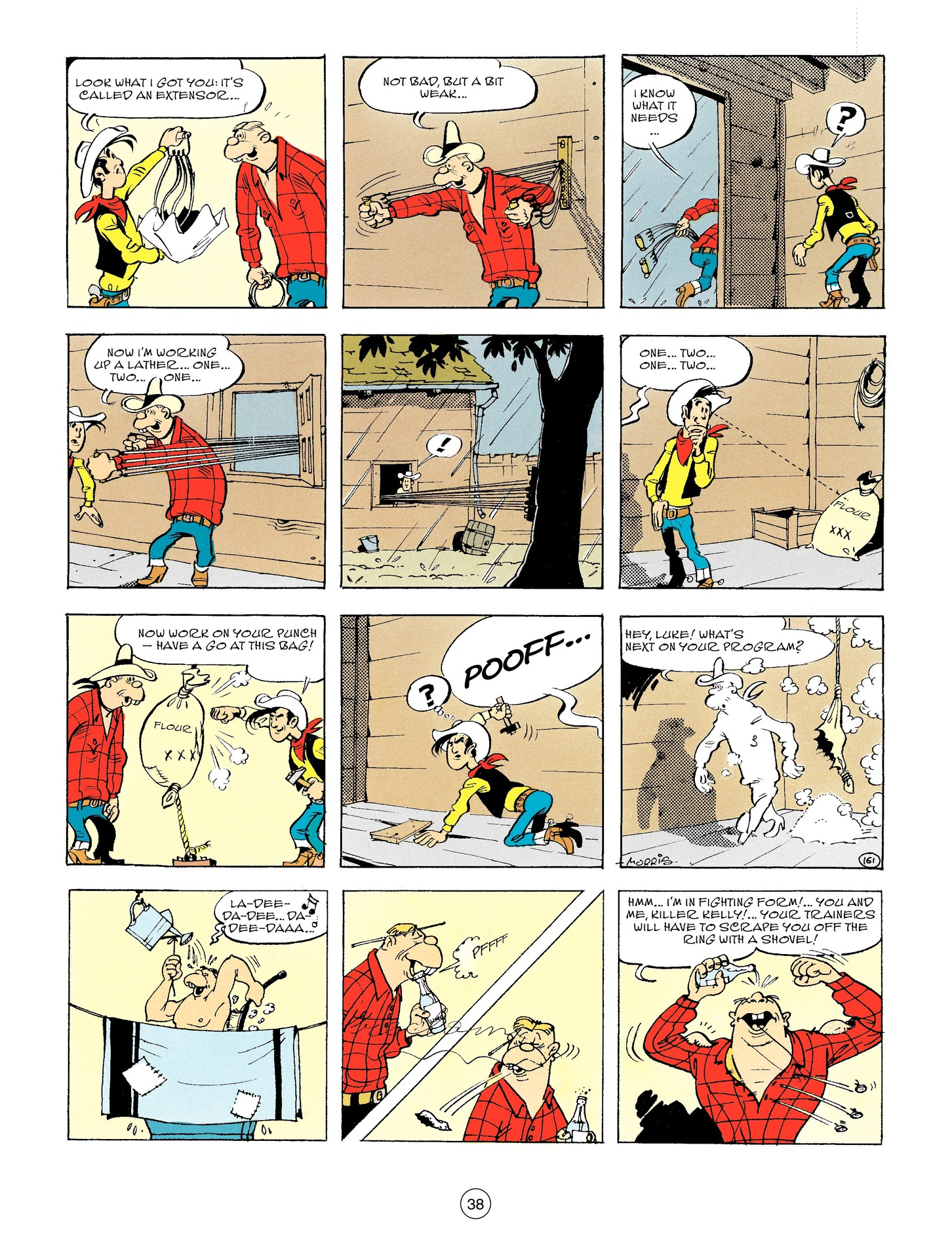 Read online A Lucky Luke Adventure comic -  Issue #56 - 38
