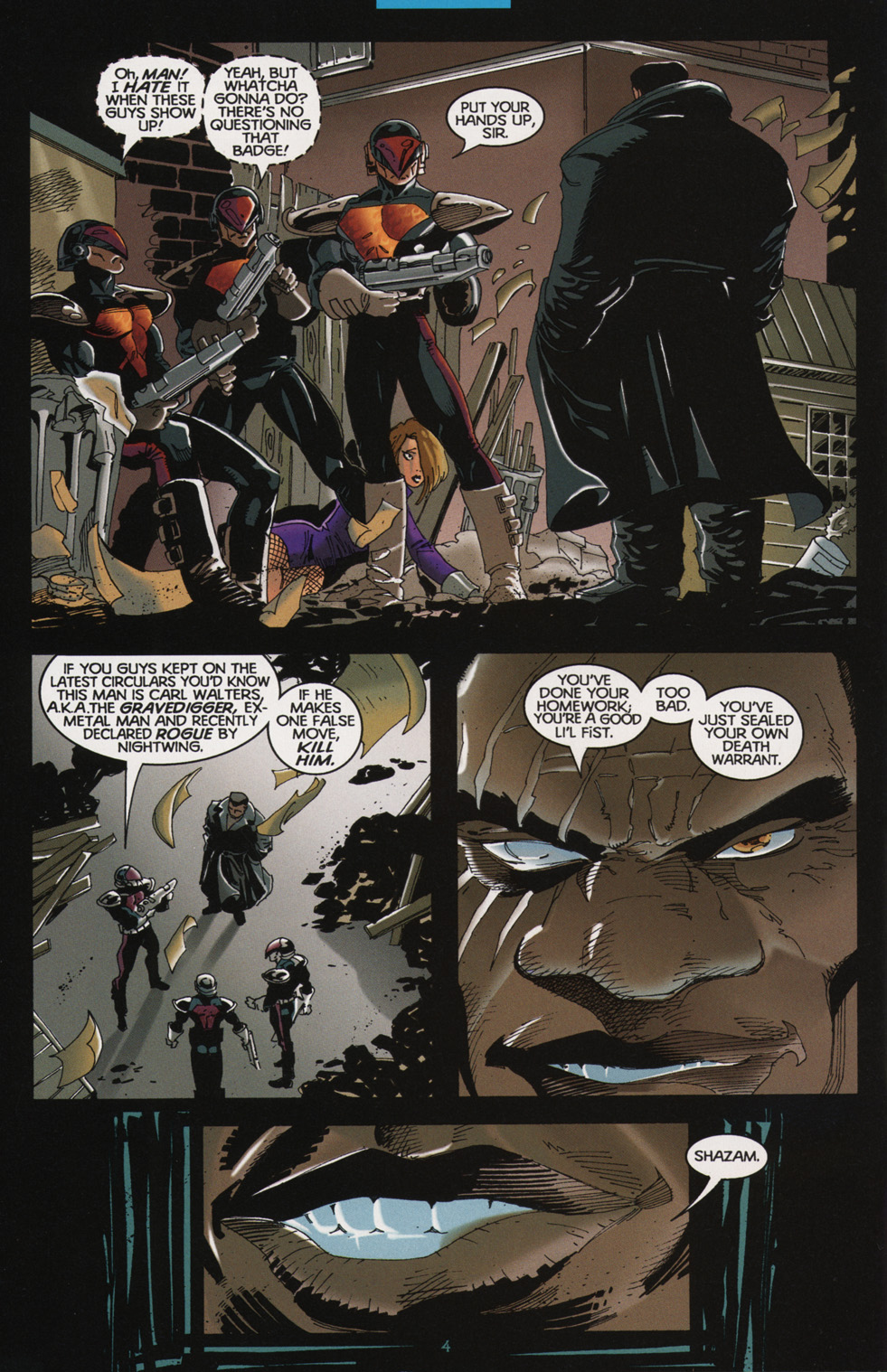 Read online Tangent Comics/ Nightwing comic -  Issue # Full - 4