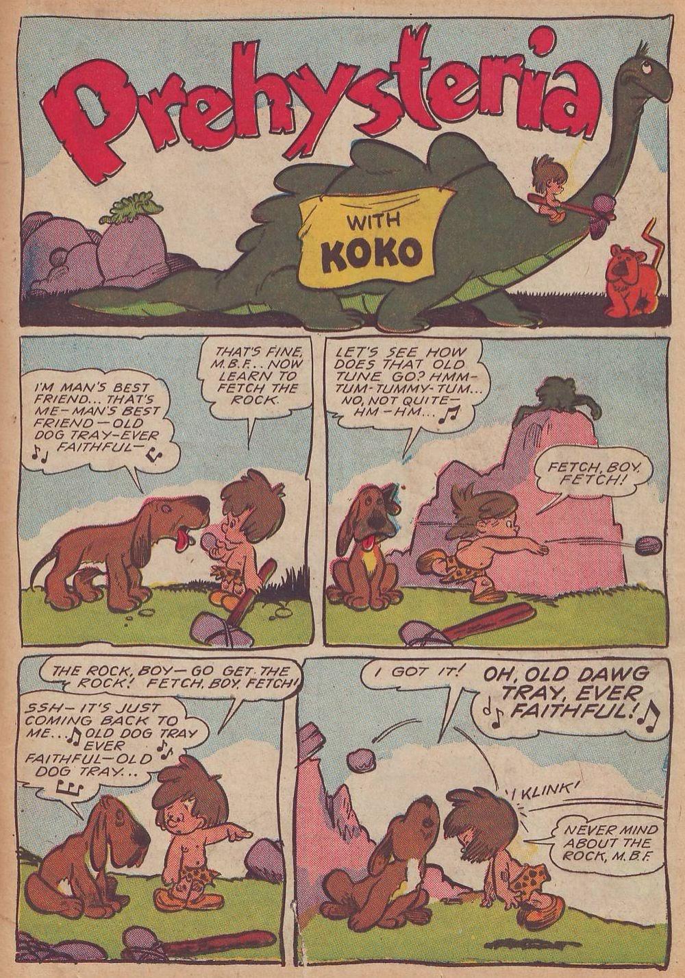 Read online Animal Comics comic -  Issue #21 - 35