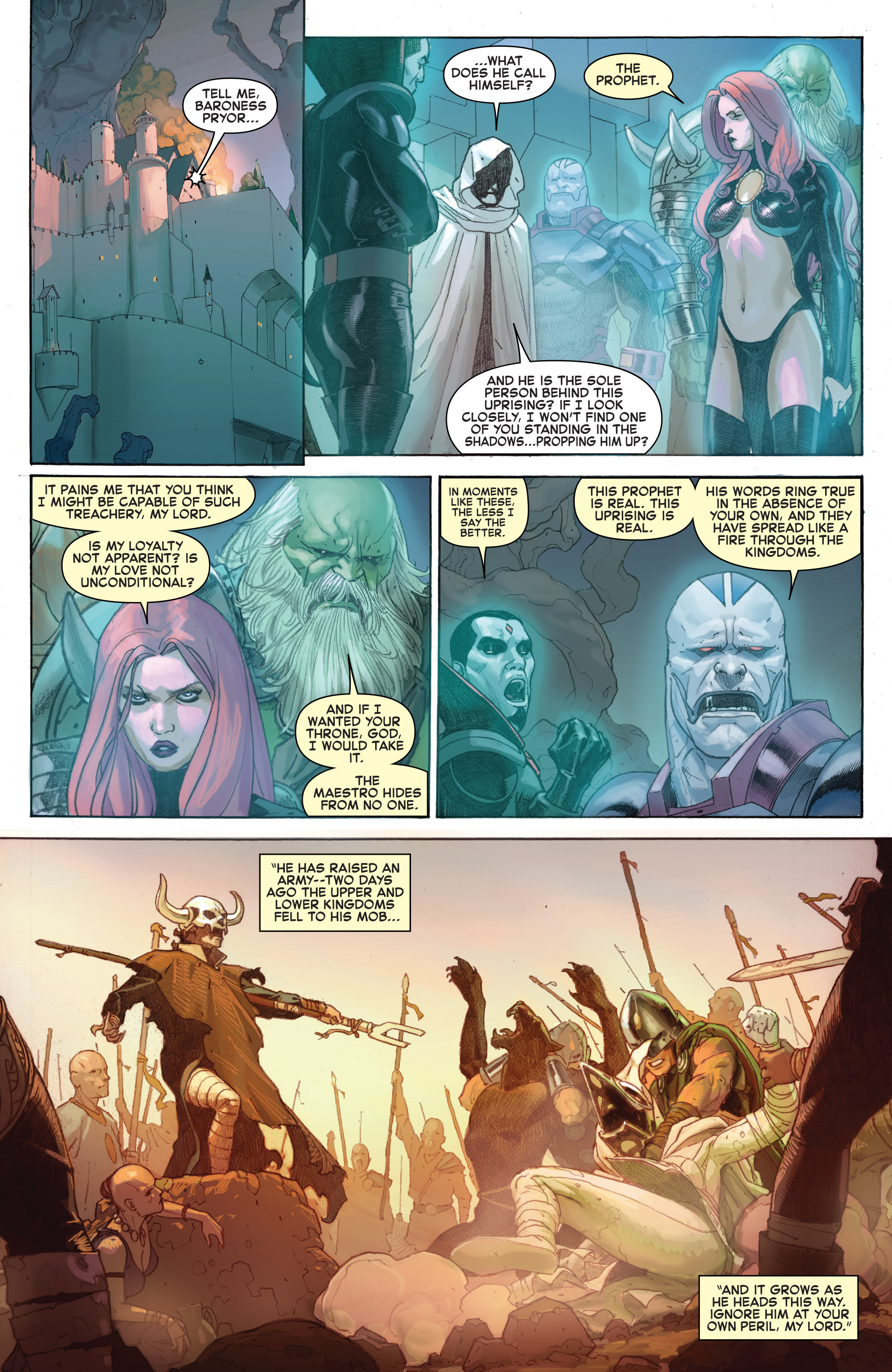 Read online Secret Wars comic -  Issue #6 - 17