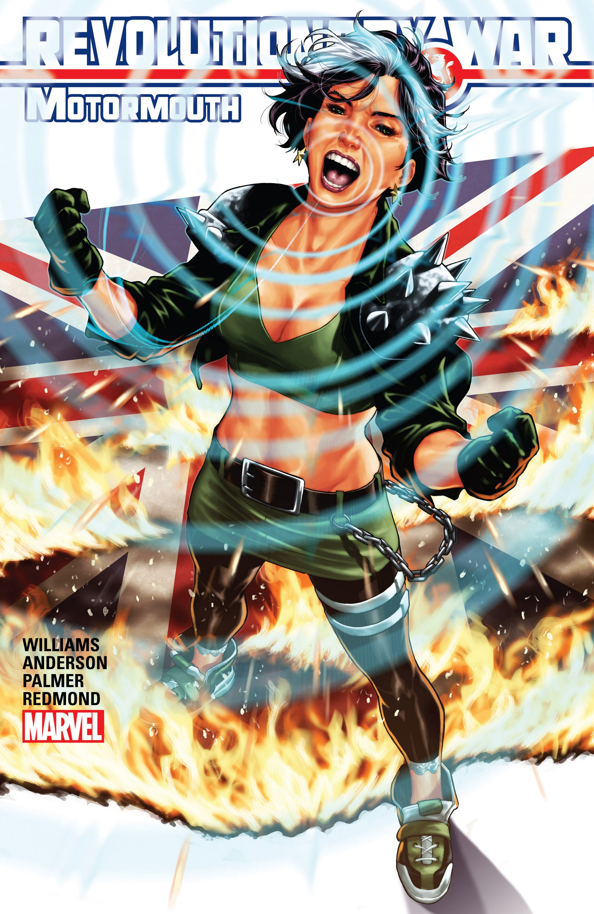Read online Revolutionary War: Motormouth comic -  Issue # Full - 1