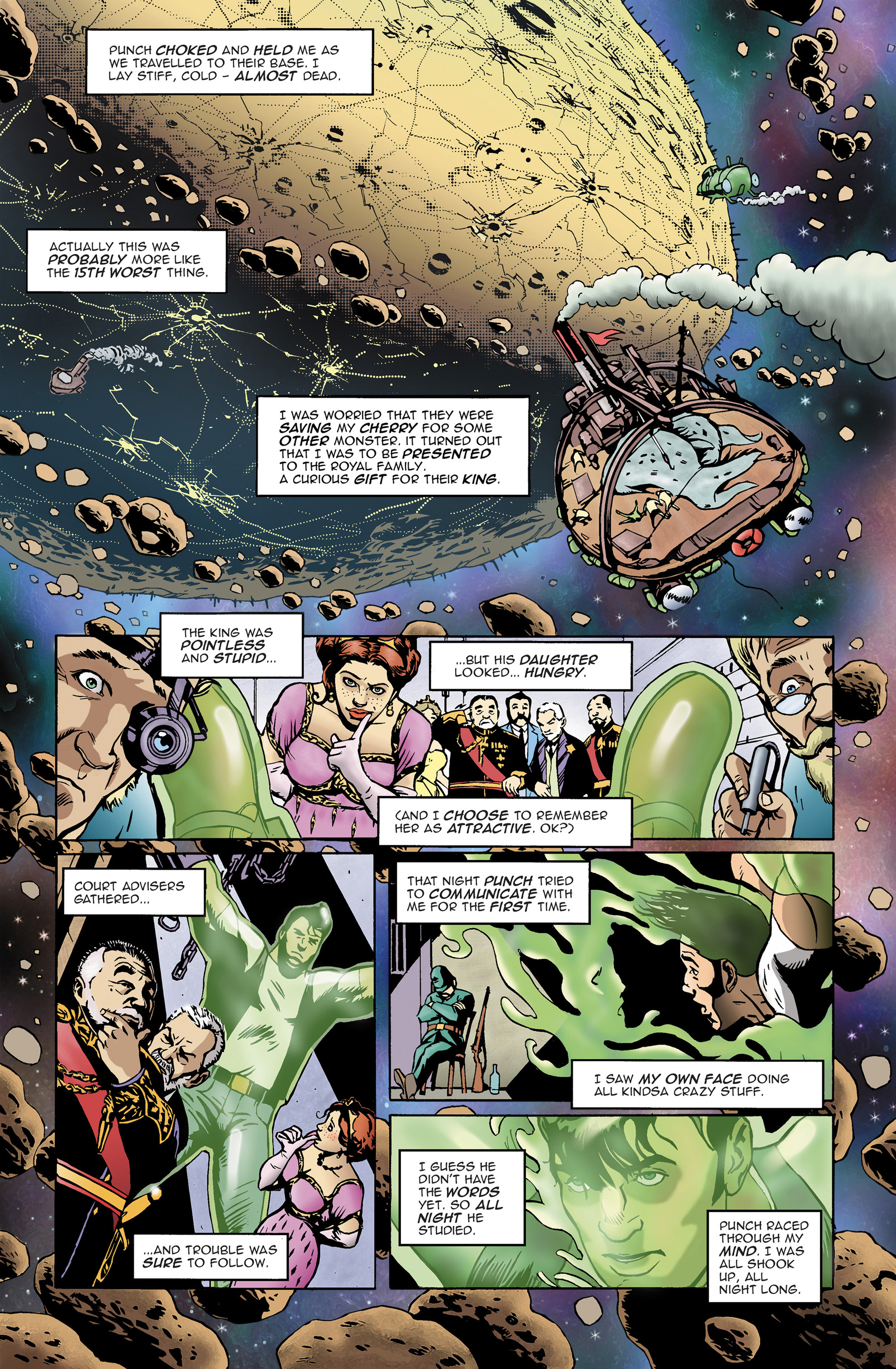 Read online 100% Biodegradable comic -  Issue #14 - 11