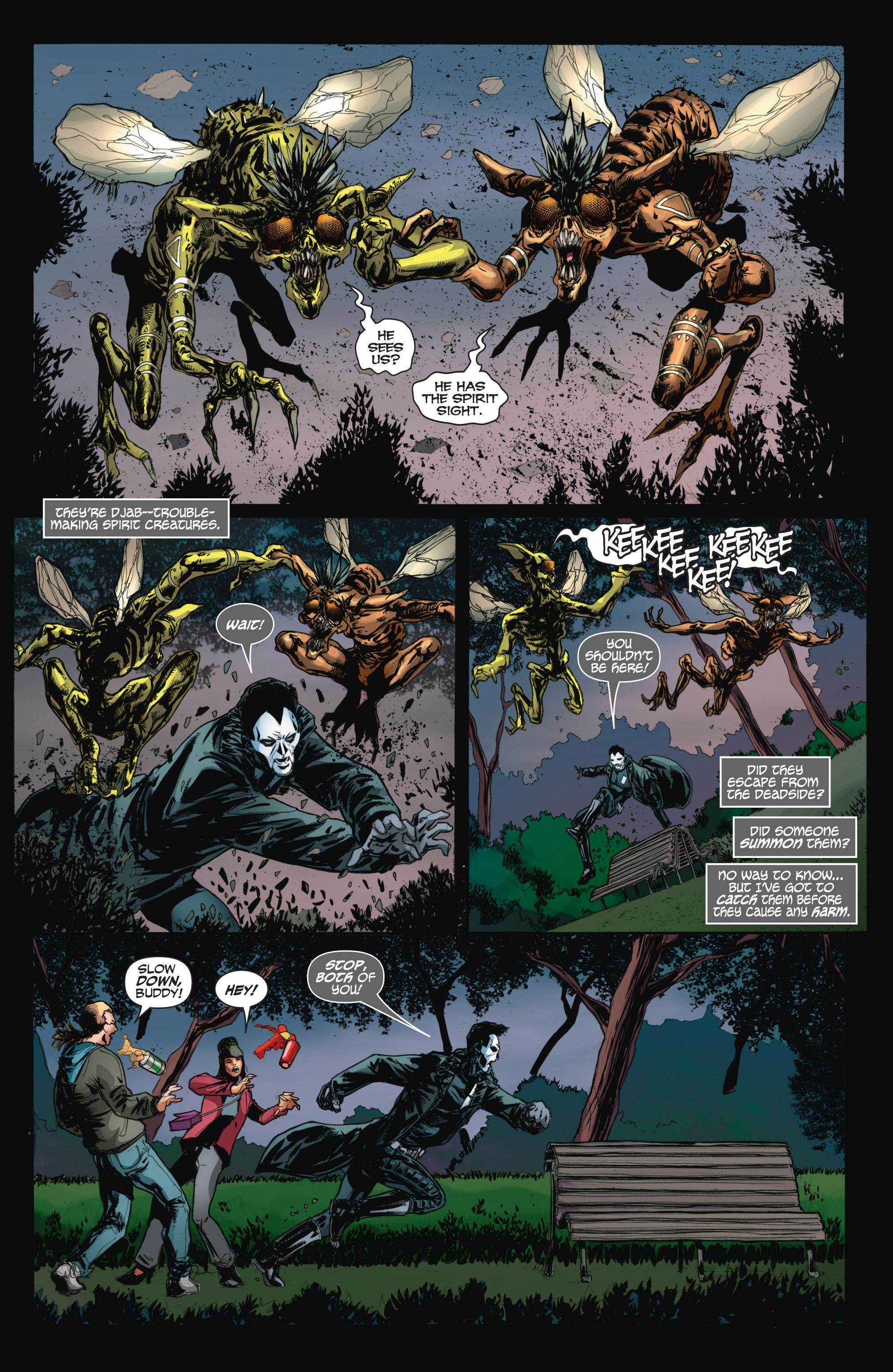 Read online Shadowman (2012) comic -  Issue #11 - 10