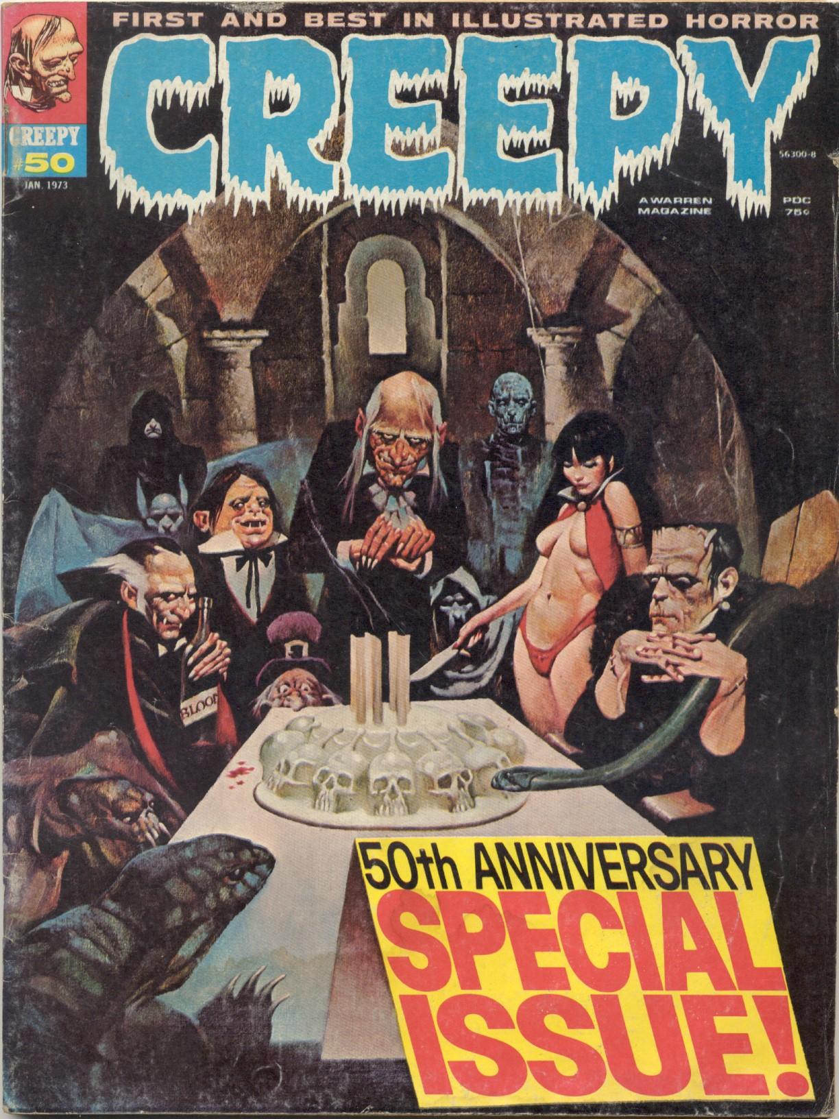 Creepy (1964) 50 Page 1