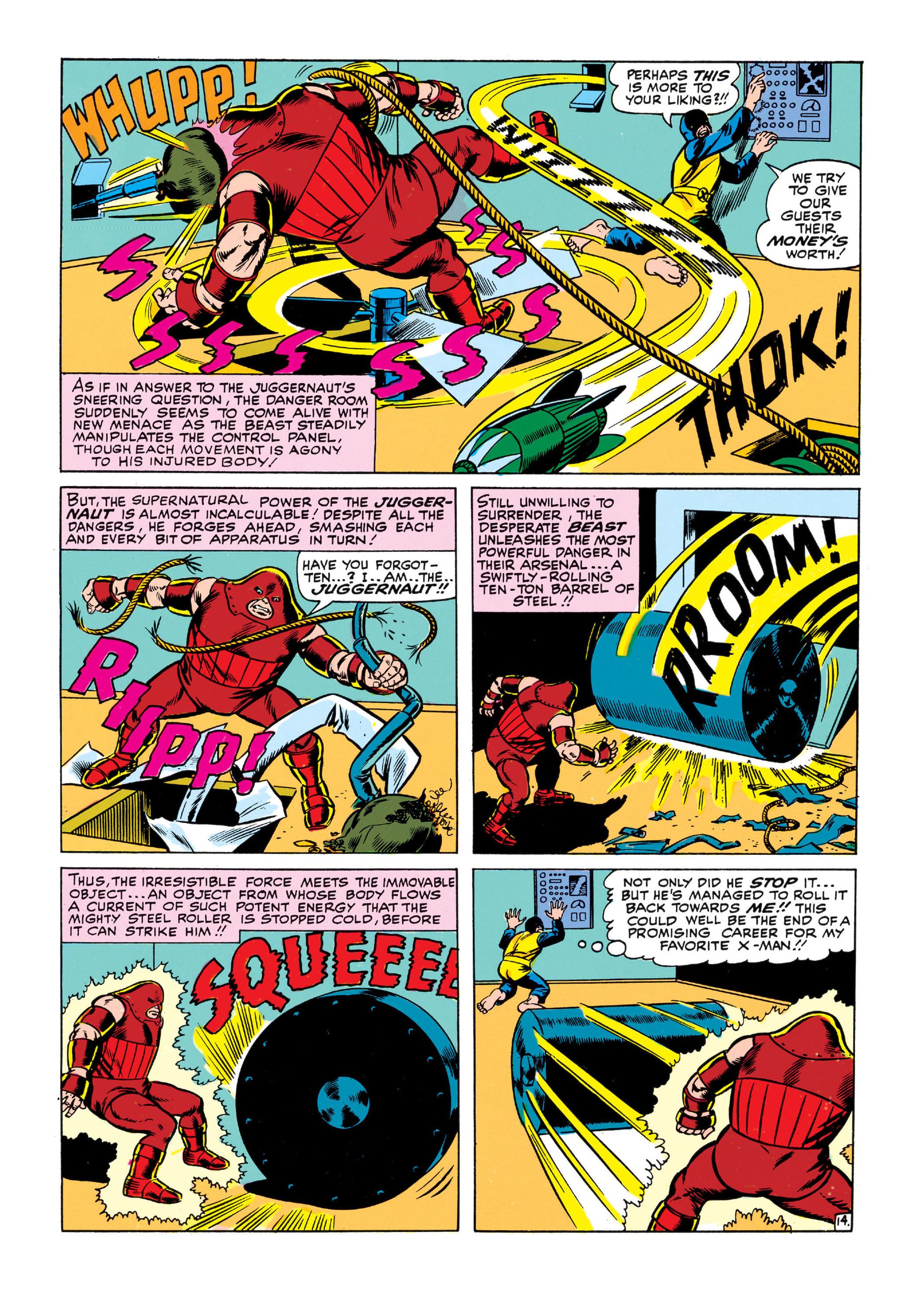 Read online Uncanny X-Men (1963) comic -  Issue #13 - 15
