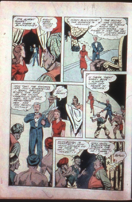 Read online Super-Magician Comics comic -  Issue #7 - 10