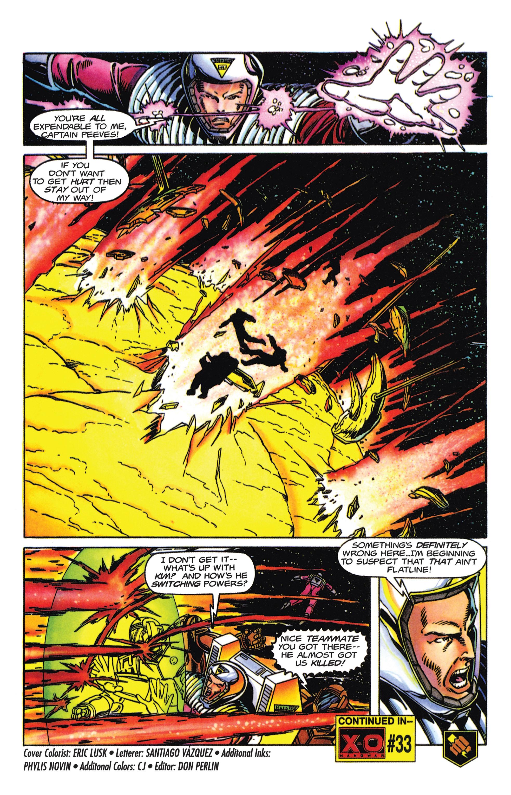 Read online Armorines comic -  Issue #5 - 21