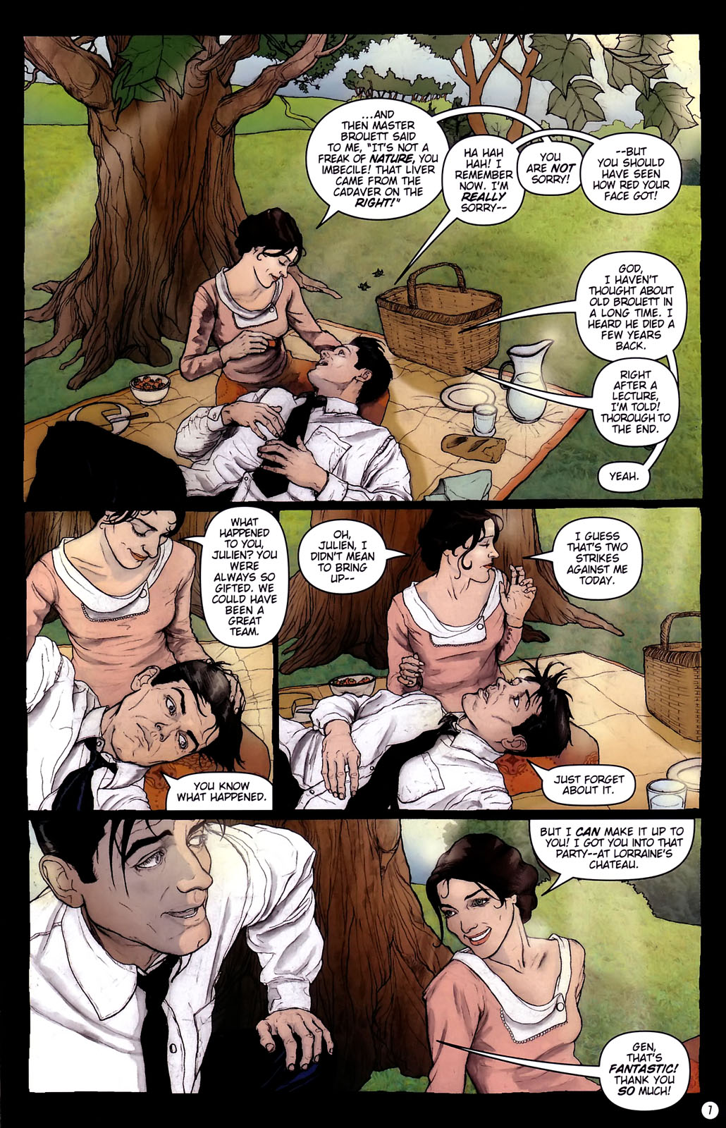 Read online Rex Mundi comic -  Issue #14 - 11