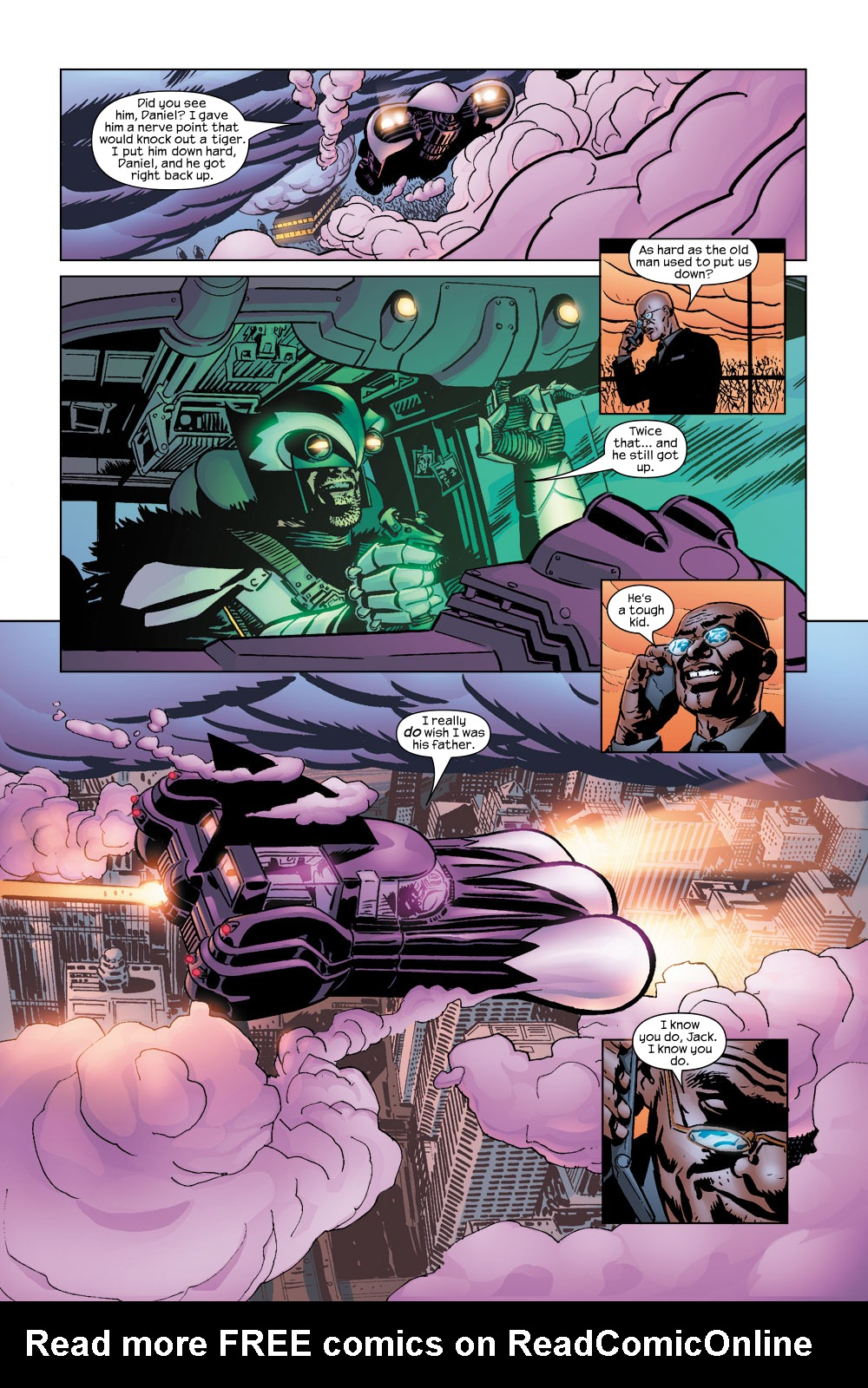 Read online Ultimate Adventures comic -  Issue #5 - 10