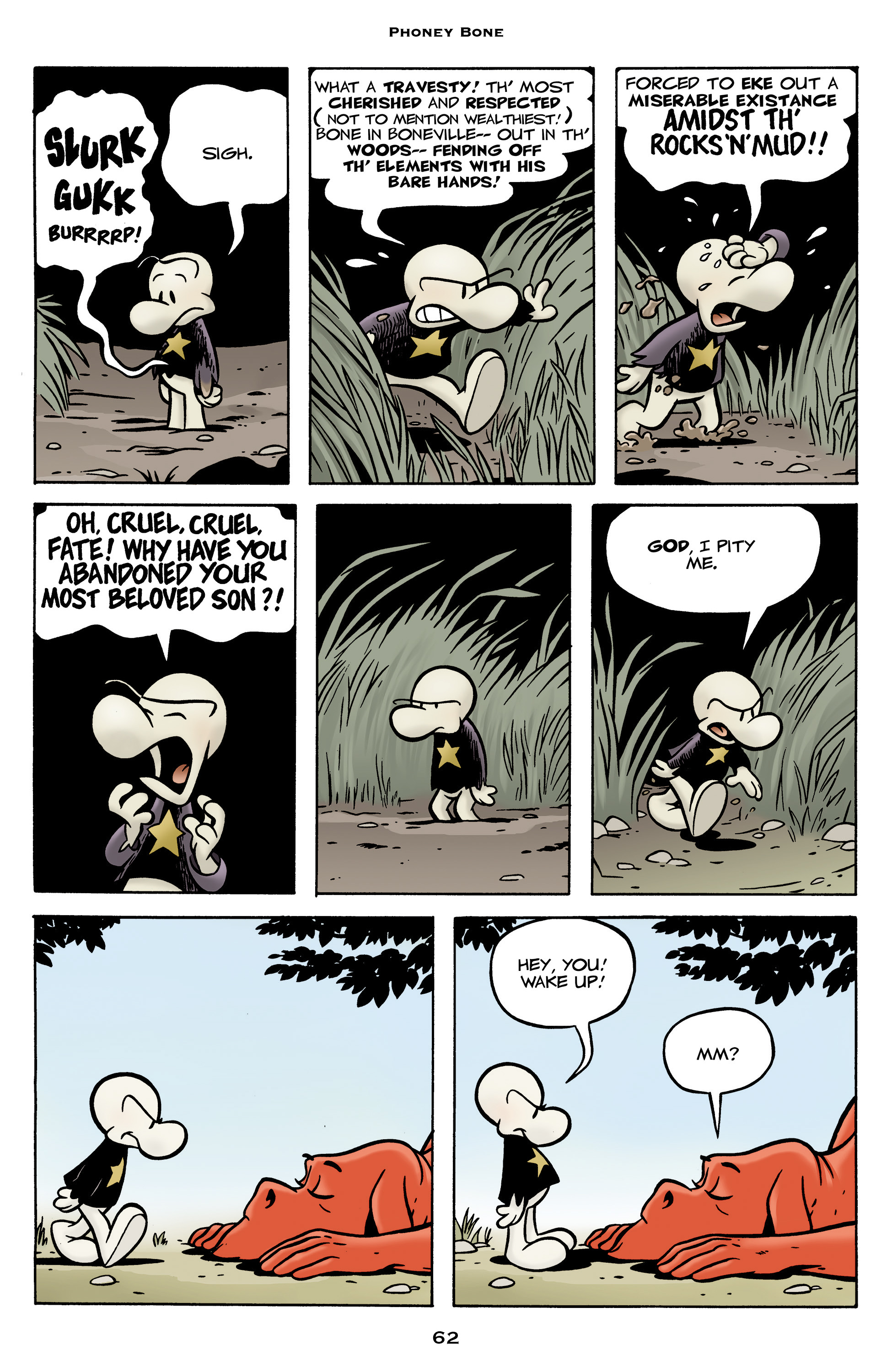 Read online Bone: Out From Boneville comic -  Issue # TPB - 62