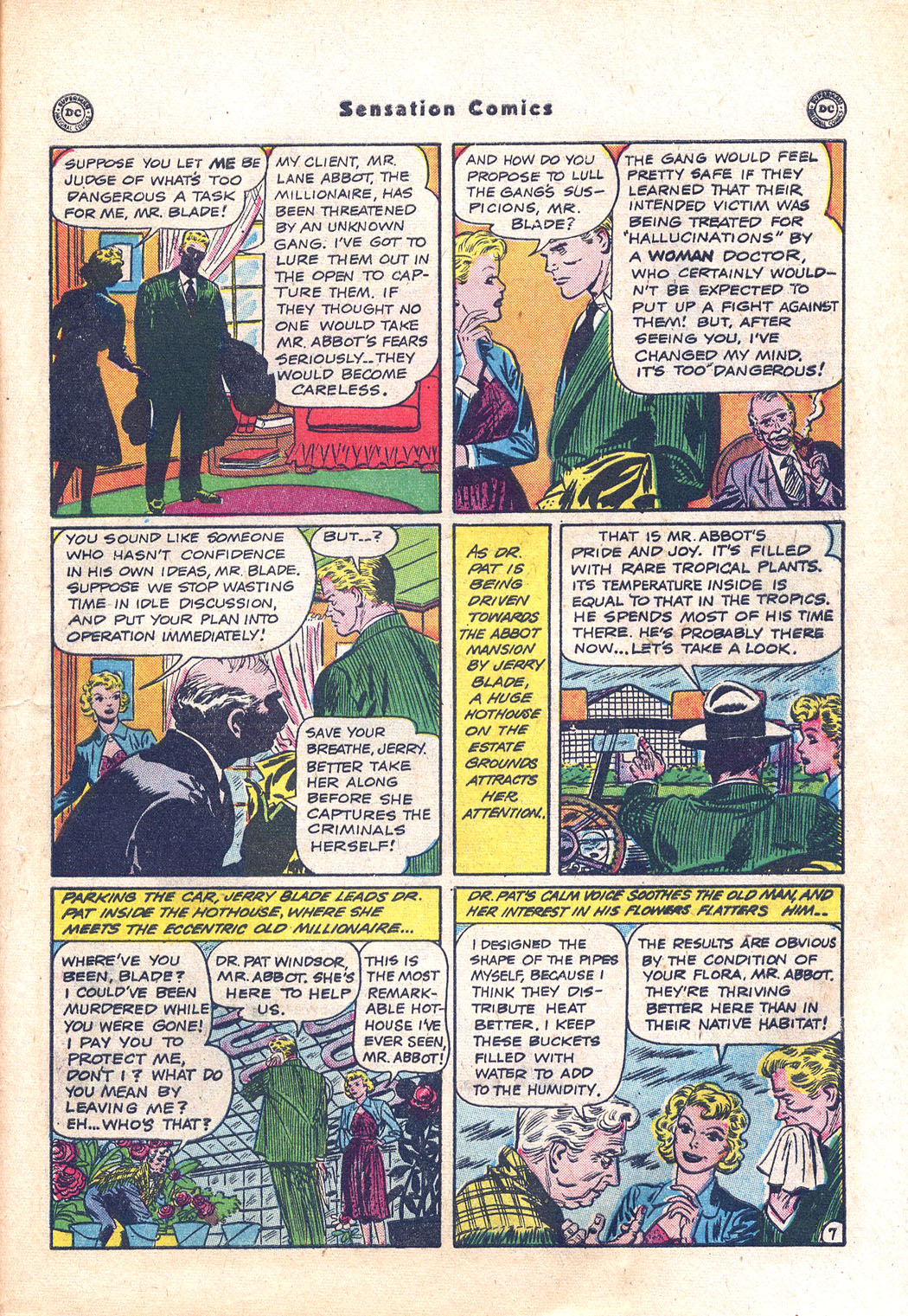 Read online Sensation (Mystery) Comics comic -  Issue #94 - 45