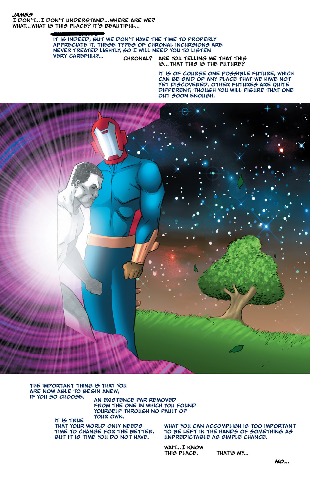 Read online The Many Adventures of Miranda Mercury: Time Runs Out comic -  Issue # TPB - 145