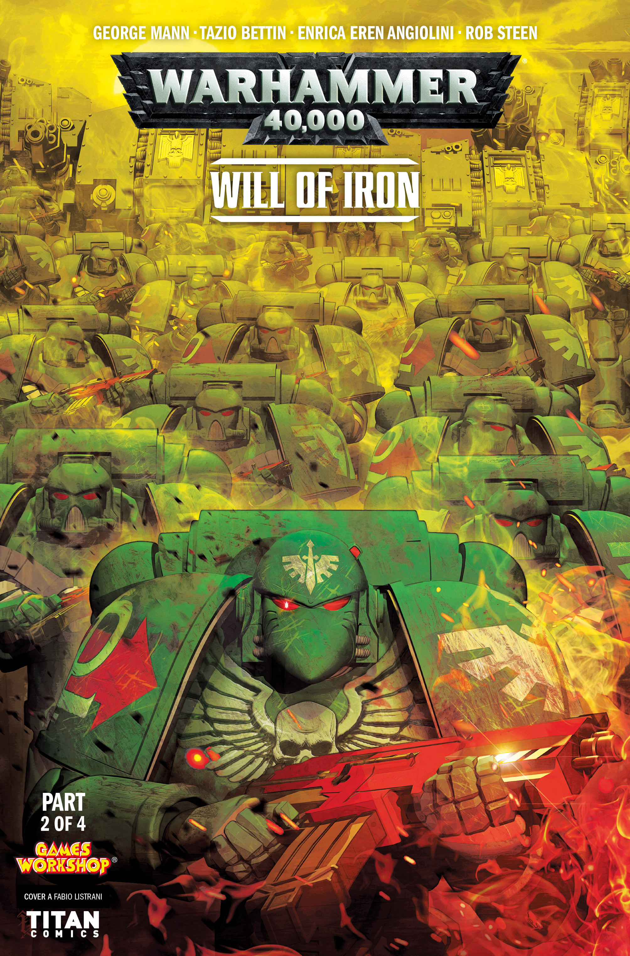 Warhammer 40,000: Will of Iron 2 Page 1