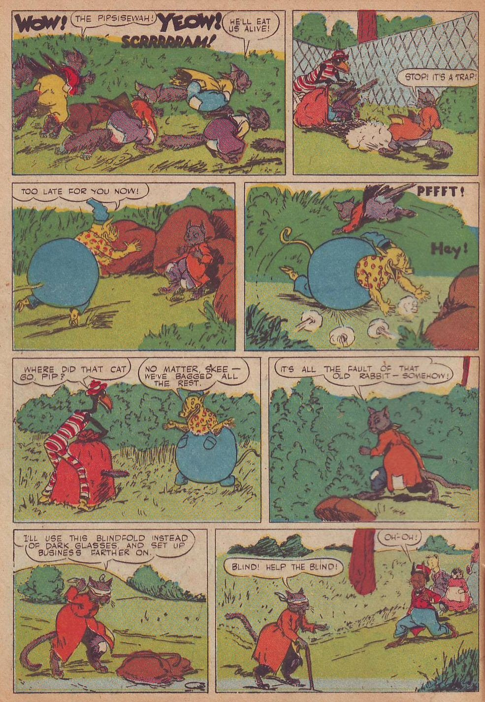 Read online Animal Comics comic -  Issue #21 - 10