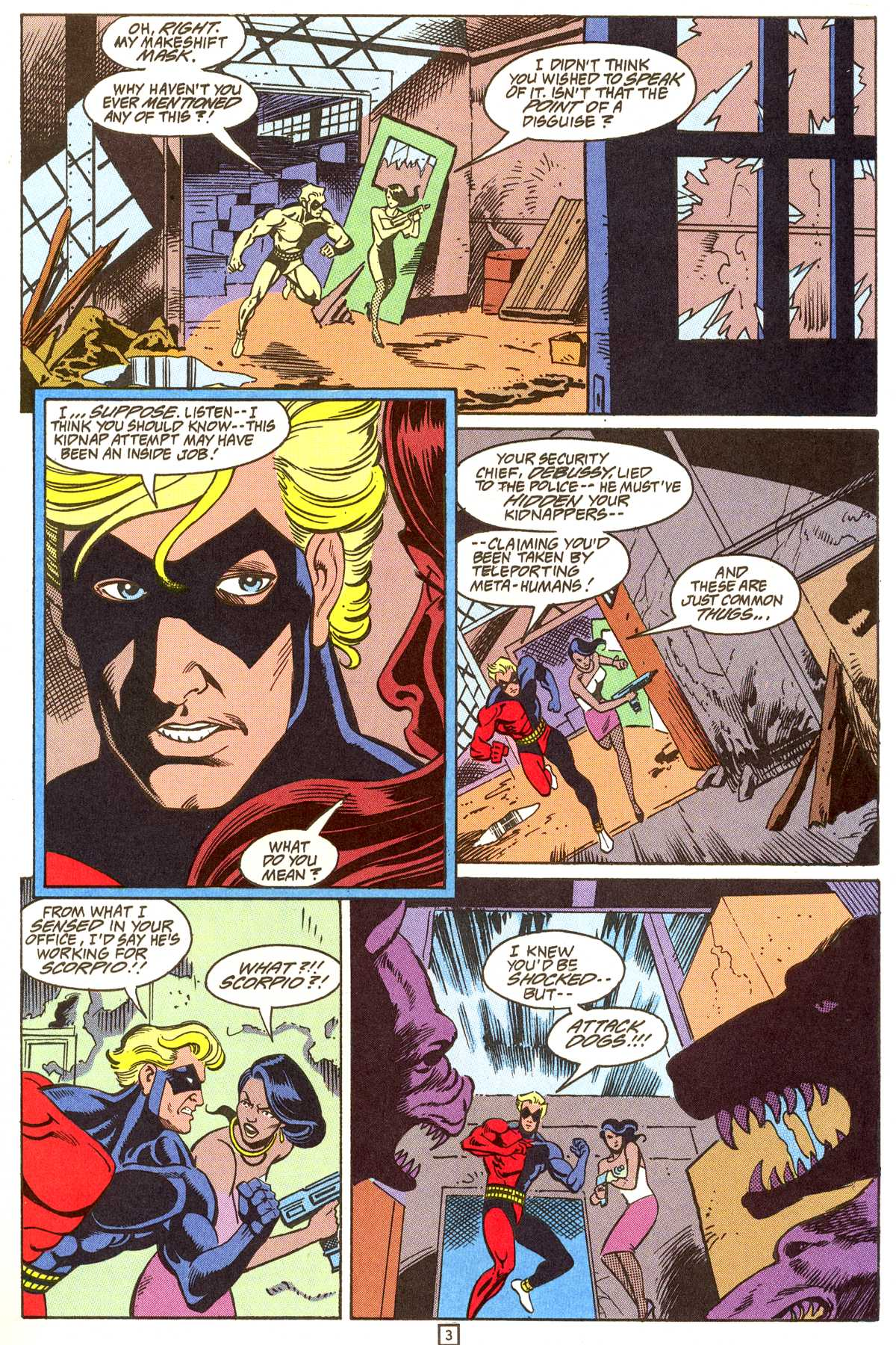 Read online Peter Cannon--Thunderbolt (1992) comic -  Issue #9 - 4