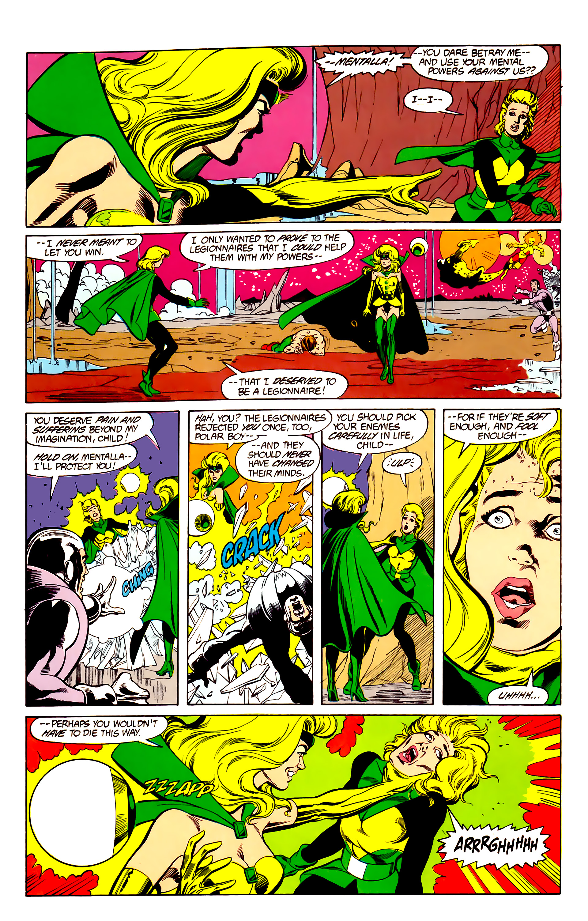 Legion of Super-Heroes (1984) 26 Page 23