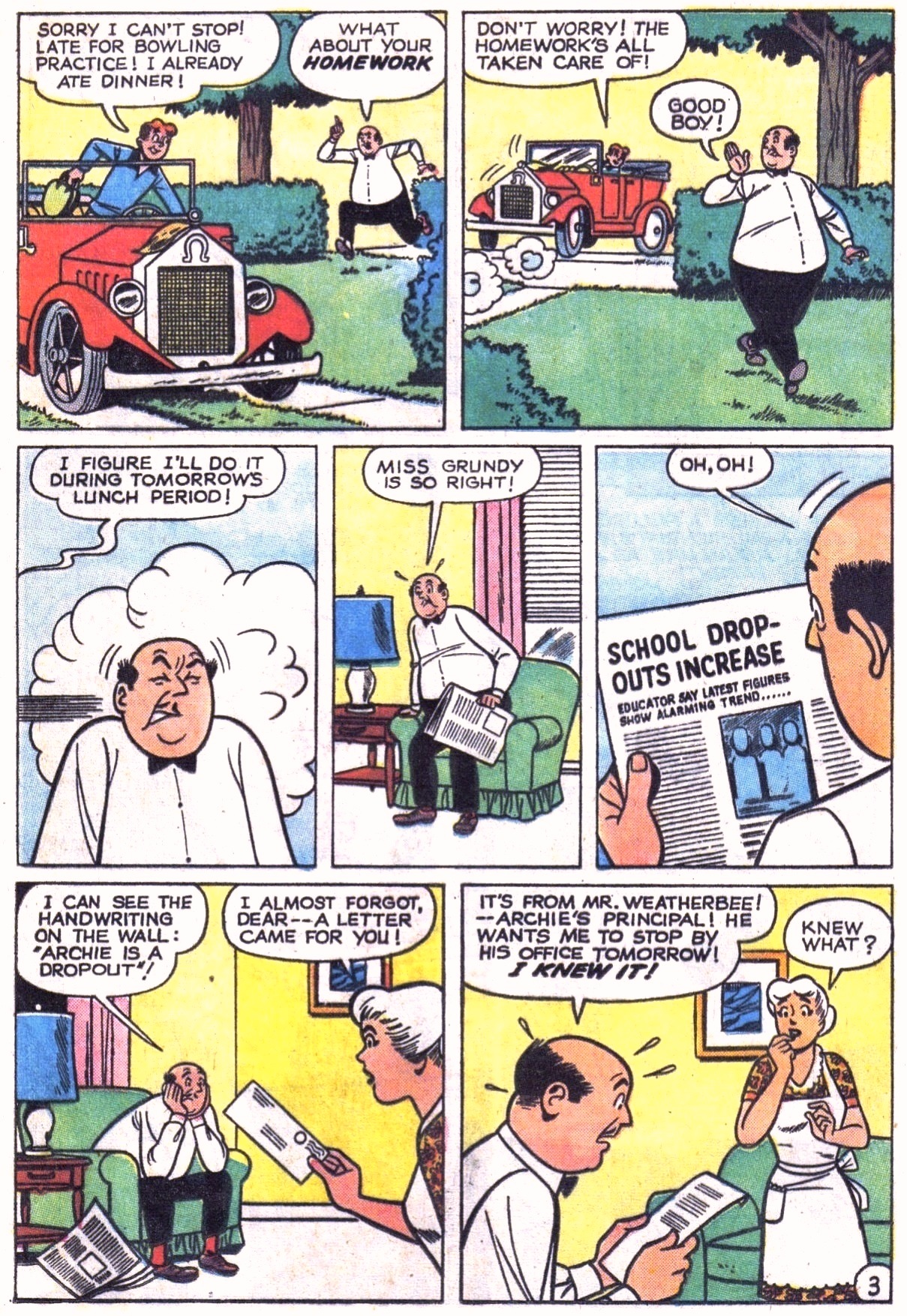 Read online Archie (1960) comic -  Issue #151 - 5