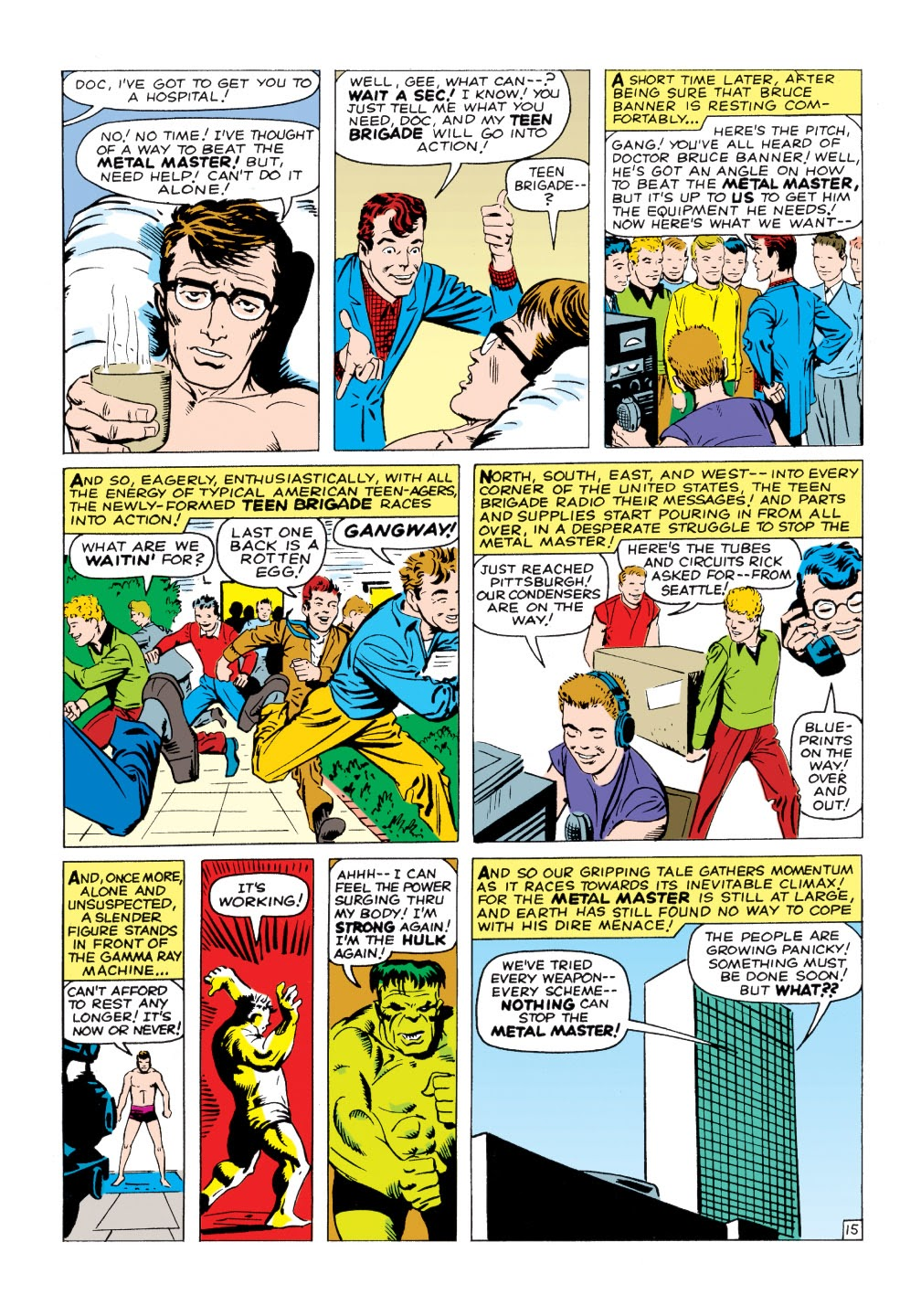 Read online Marvel Masterworks: The Incredible Hulk comic -  Issue # TPB 1 (Part 2) - 44