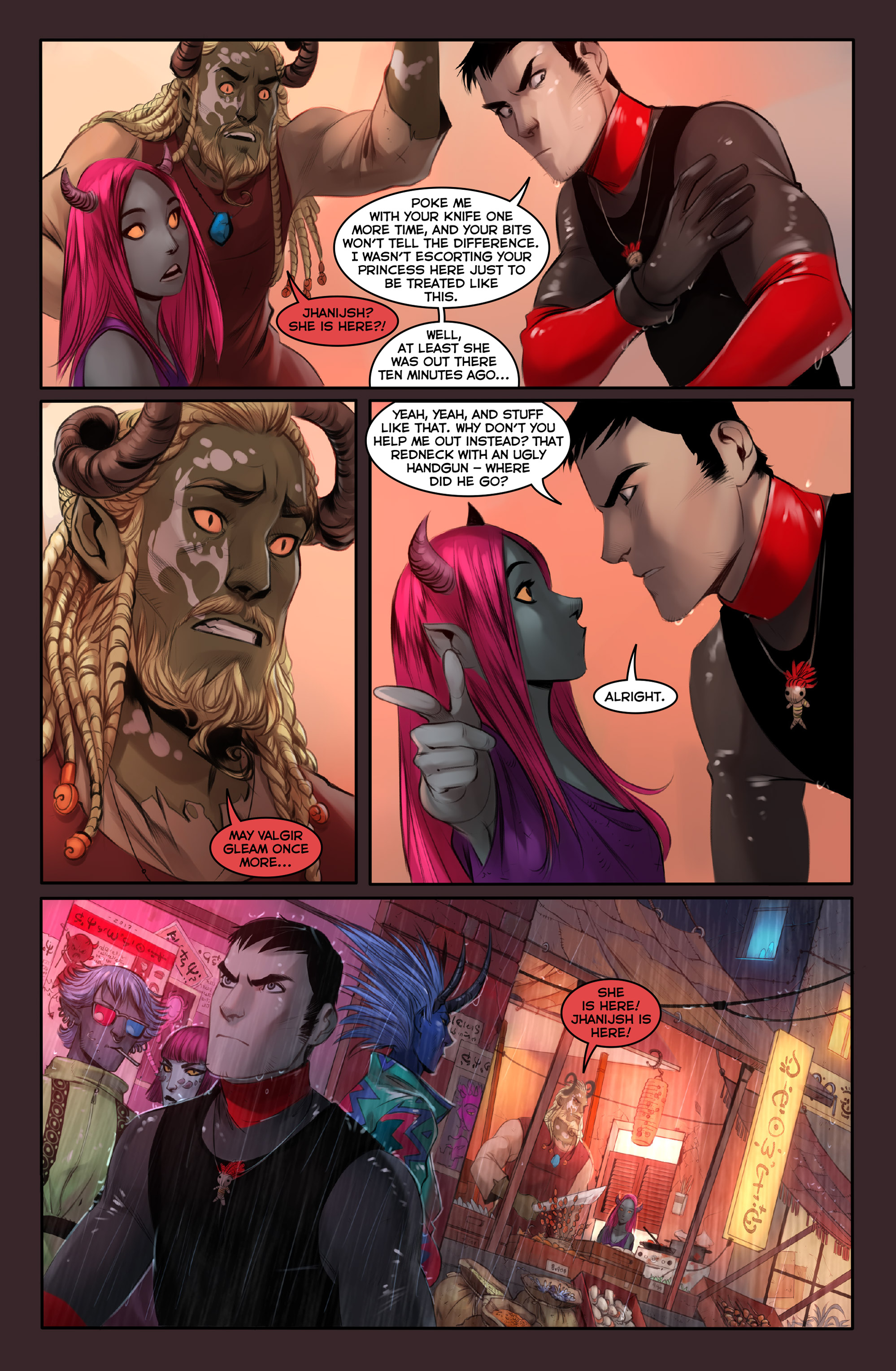 Read online Demonslayer, Vol. 2 comic -  Issue #4 - 8