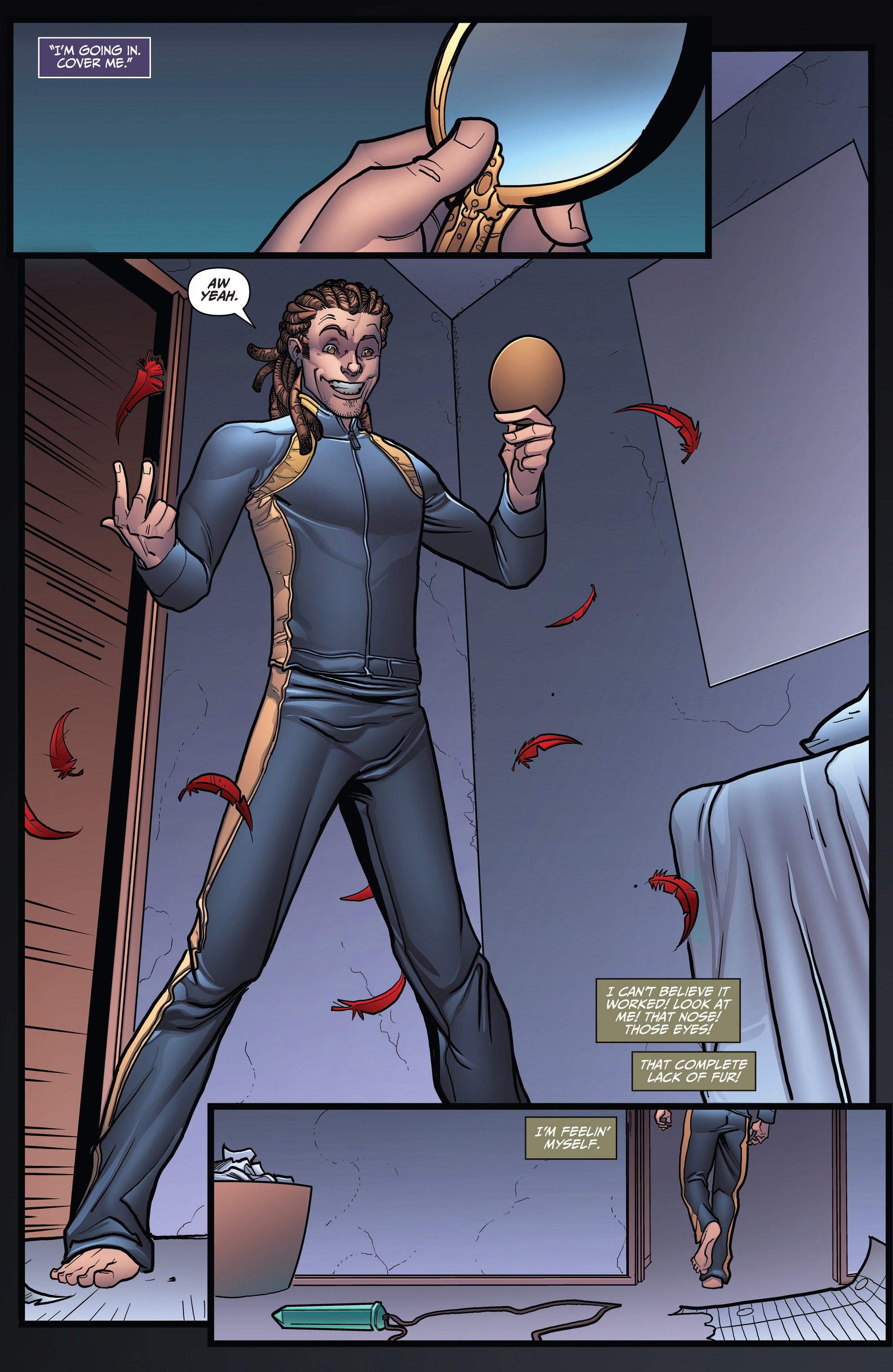 Read online Grimm Fairy Tales: Arcane Acre comic -  Issue # TPB 3 - 131