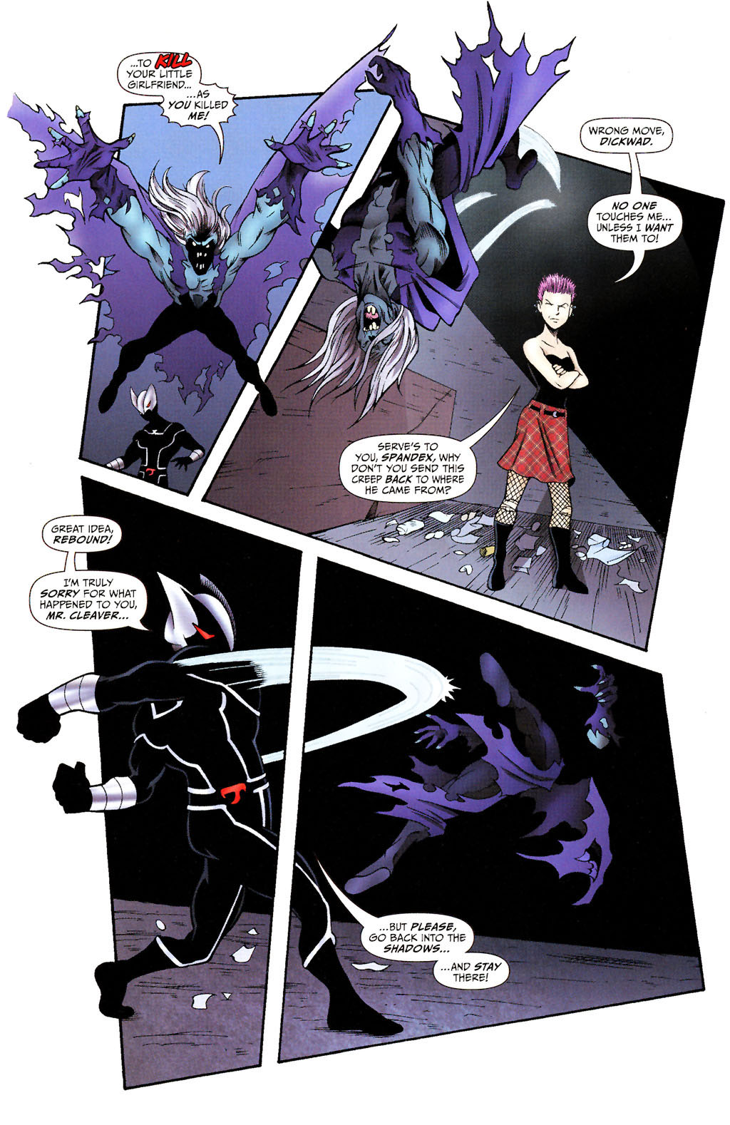 Read online ShadowHawk (2005) comic -  Issue #15 - 6