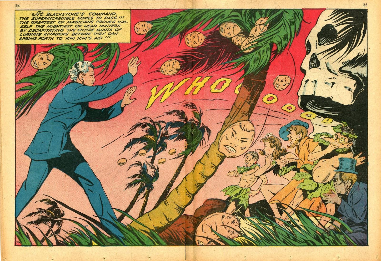Read online Super-Magician Comics comic -  Issue #15 - 34