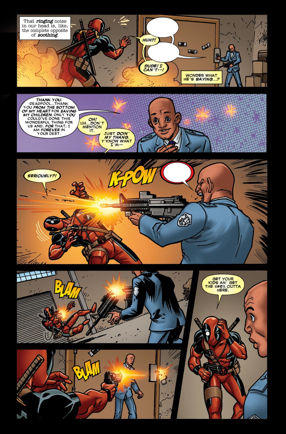 Read online Deadpool (2008) comic -  Issue #49 - 17