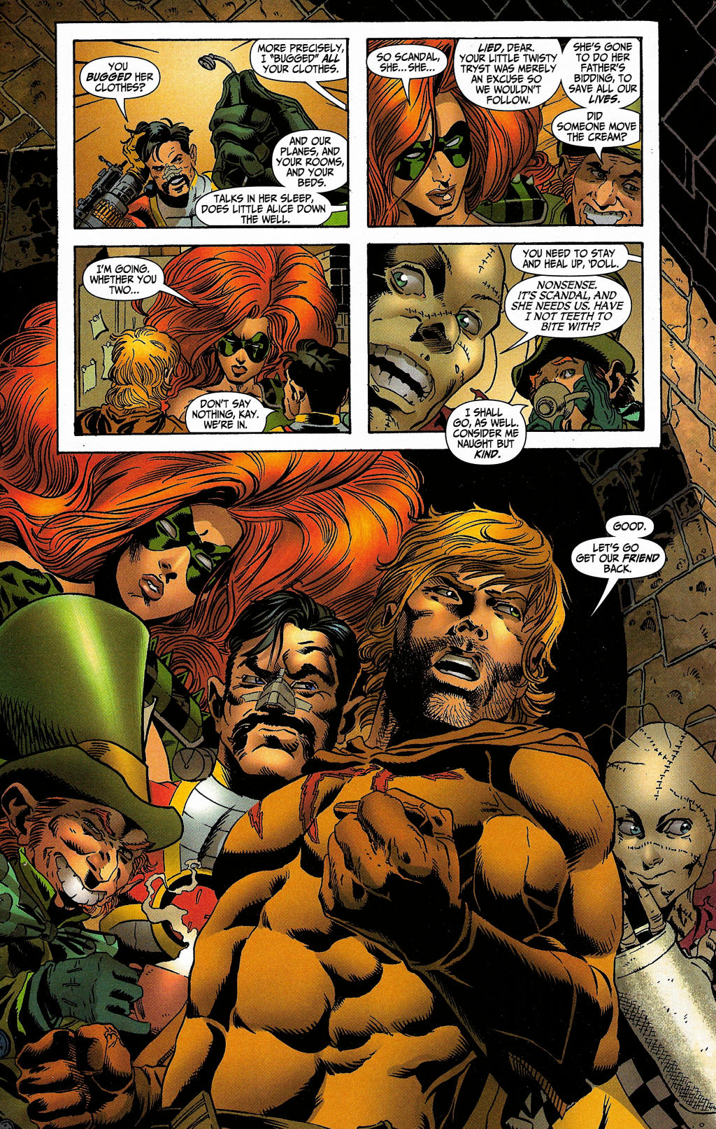 Read online Secret Six (2006) comic -  Issue #5 - 22