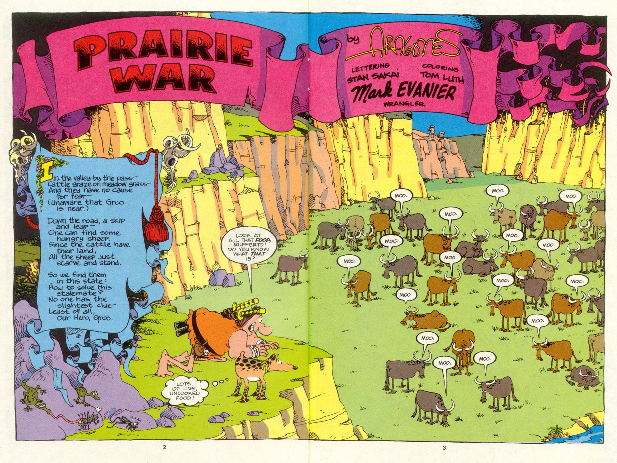 Read online Sergio Aragonés Groo the Wanderer comic -  Issue #88 - 4