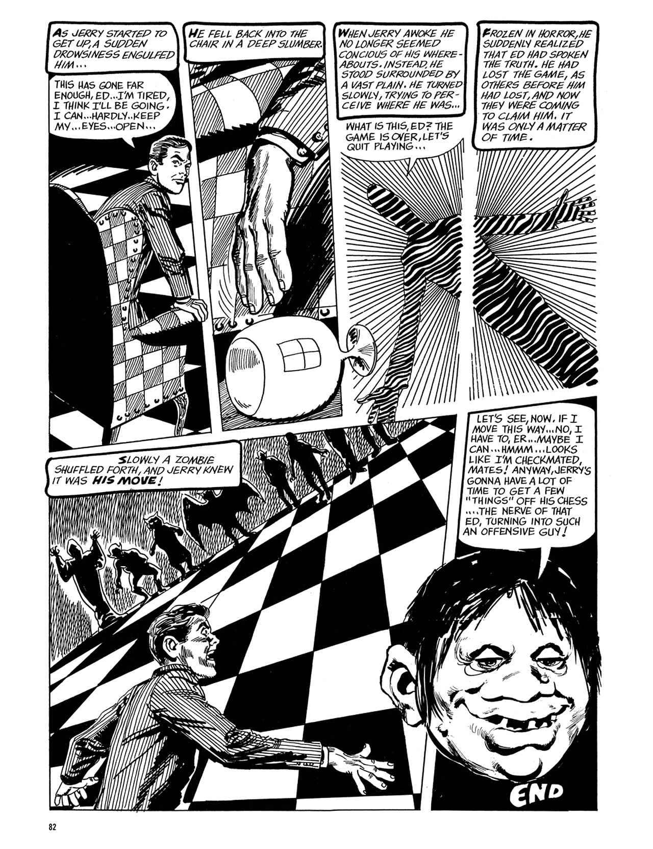 Read online Eerie Archives comic -  Issue # TPB 5 - 83