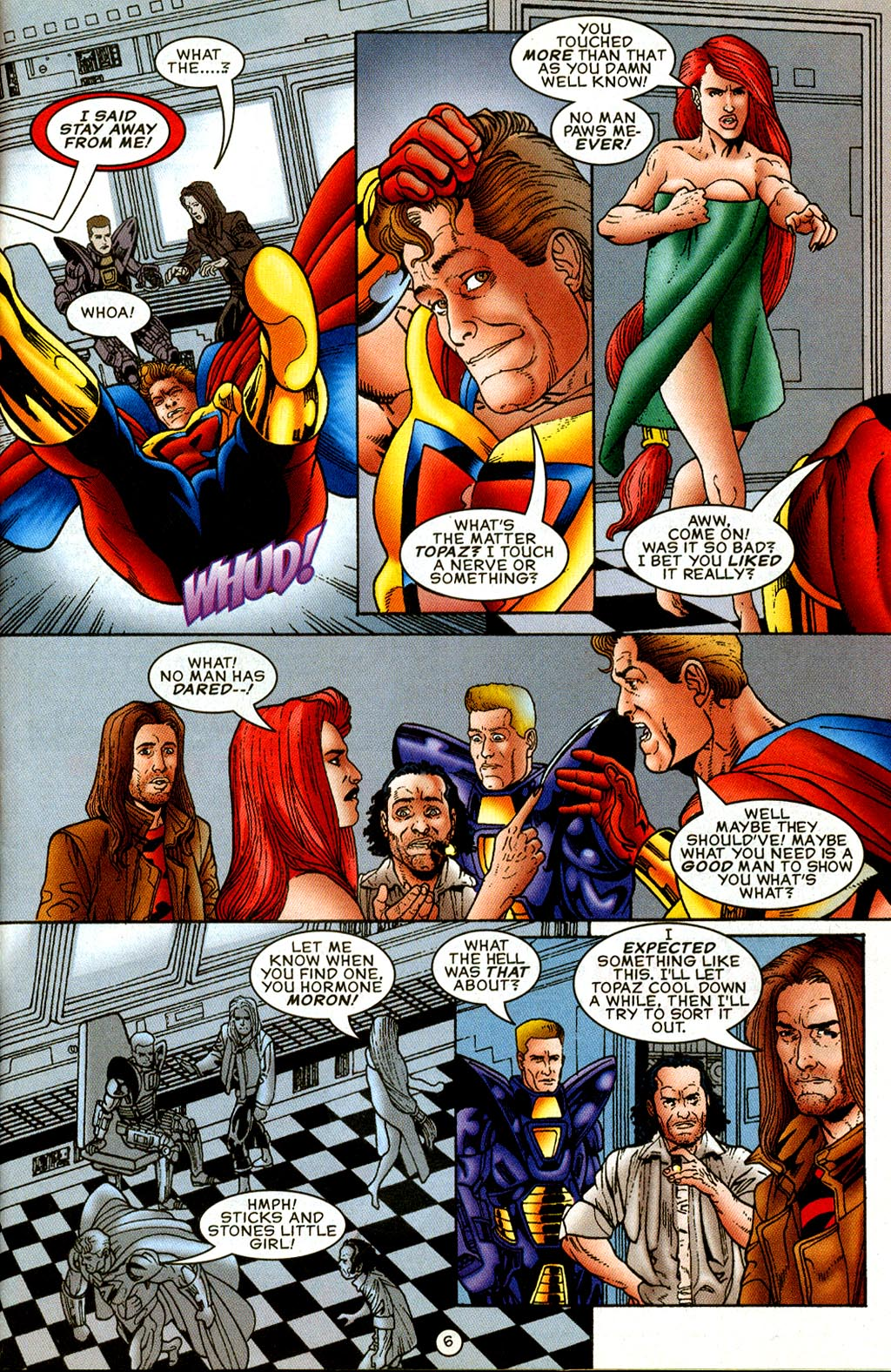 Read online UltraForce (1995) comic -  Issue #8 - 7