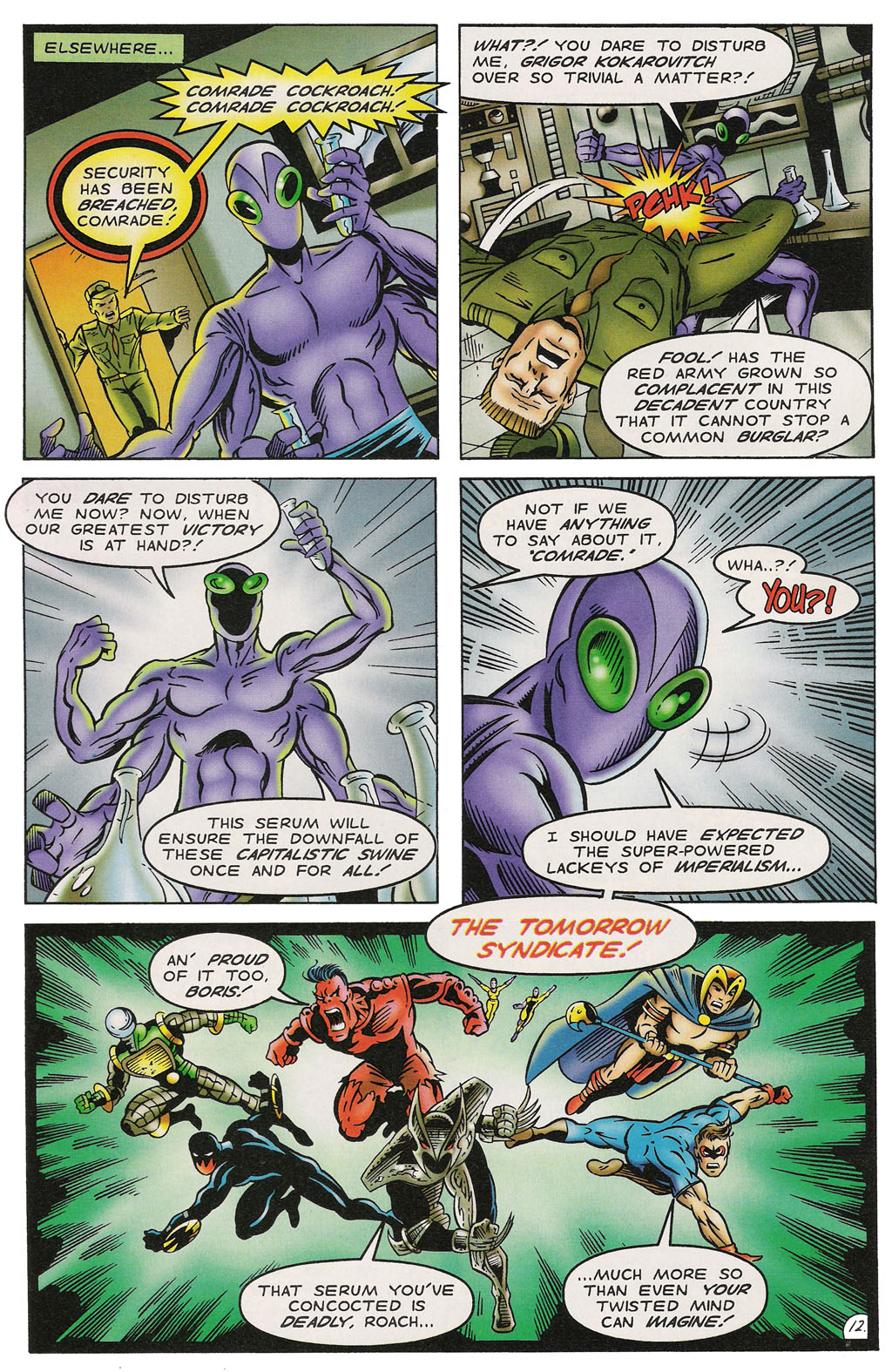 Read online ShadowHawk comic -  Issue #14 - 13