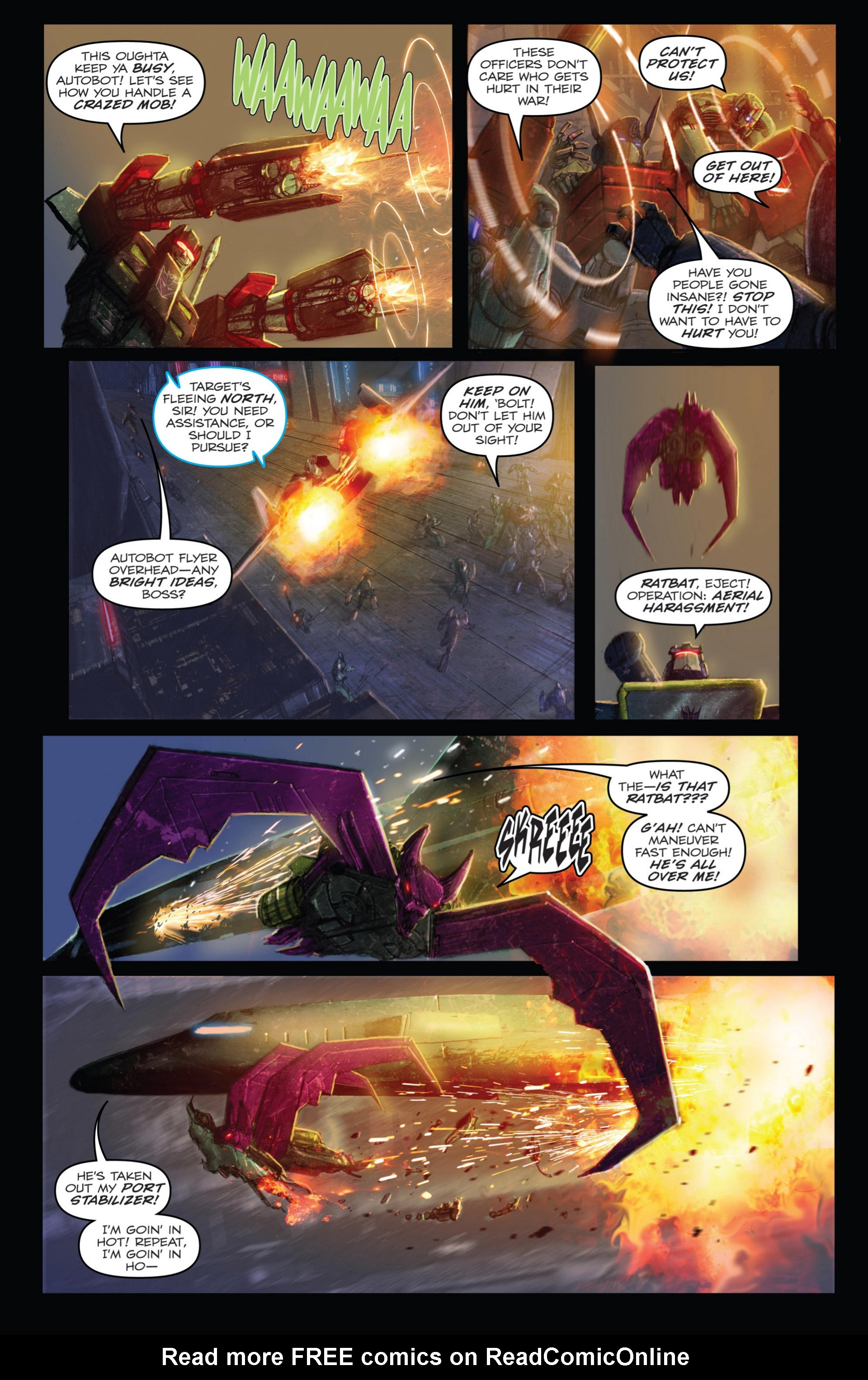 Read online Transformers: Autocracy comic -  Issue # Full - 30