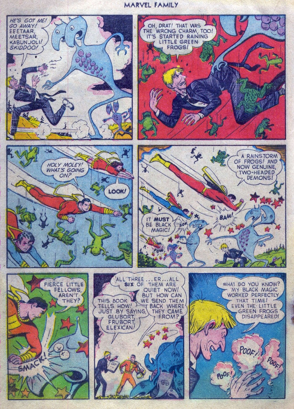 The Marvel Family issue 52 - Page 19