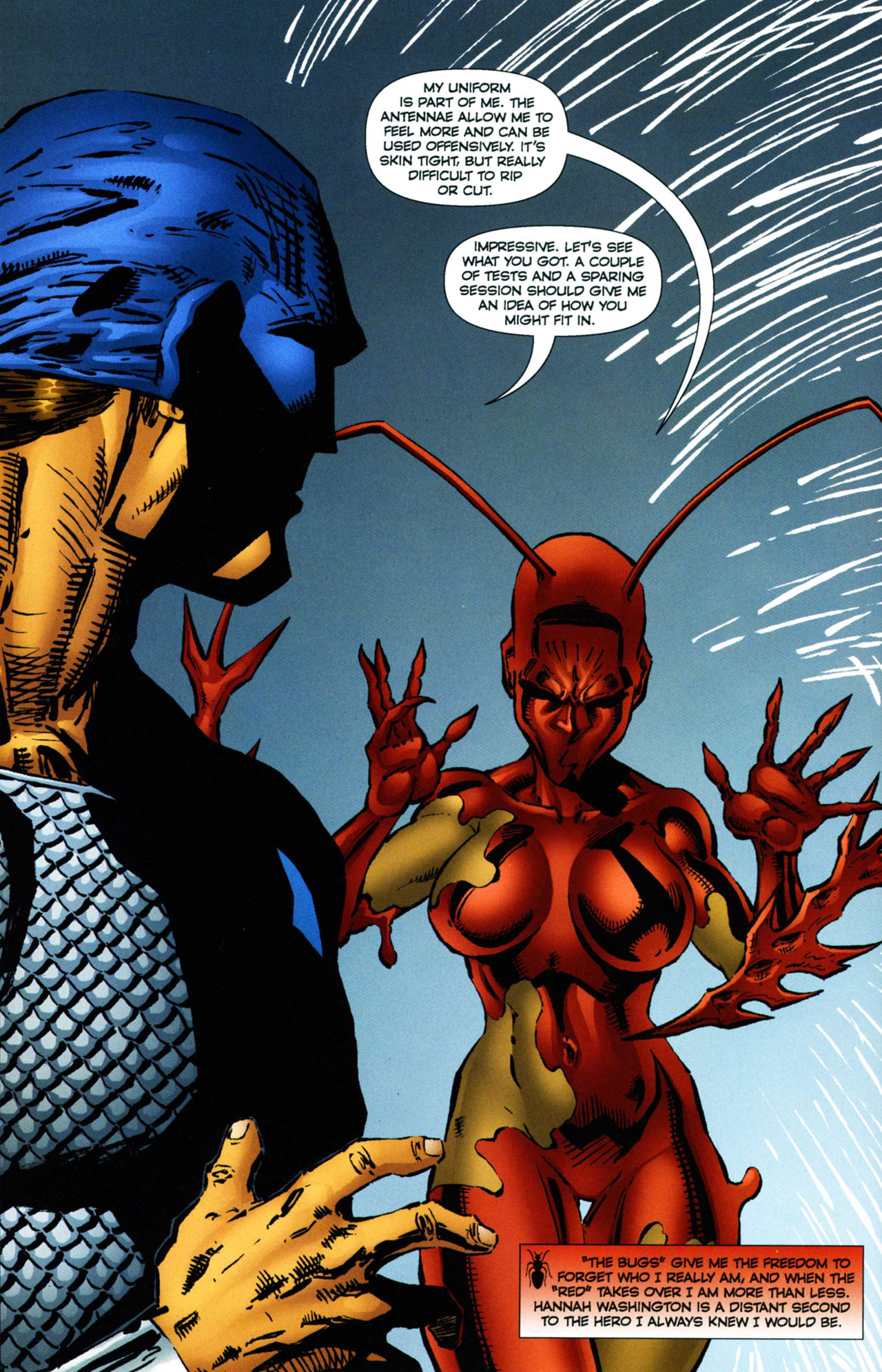 Read online Ant comic -  Issue #11 - 14
