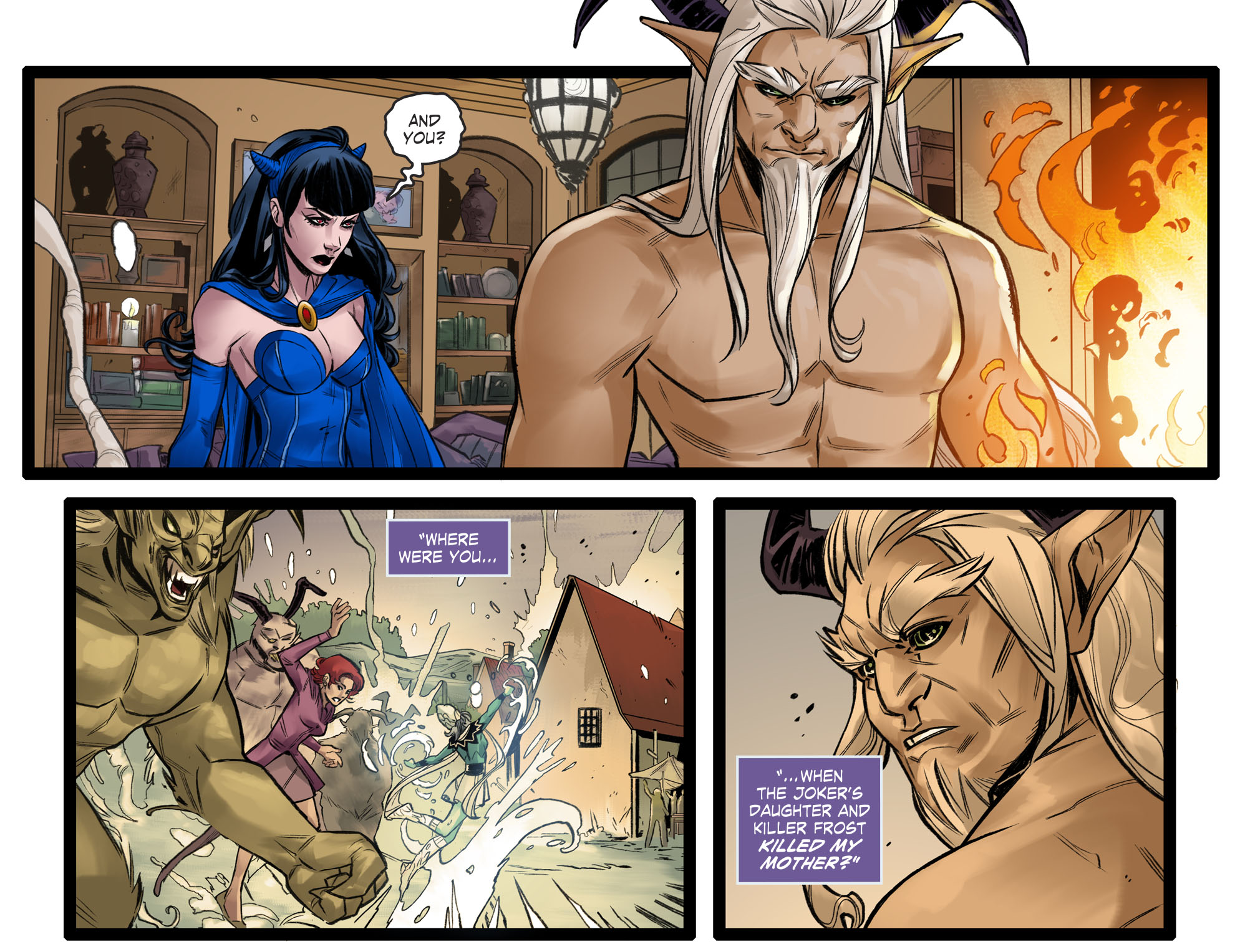 Read online DC Comics: Bombshells comic -  Issue #96 - 20
