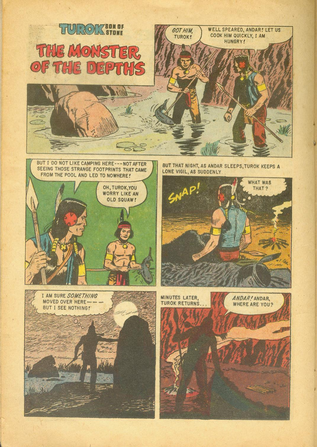 Read online Turok, Son of Stone comic -  Issue #18 - 22