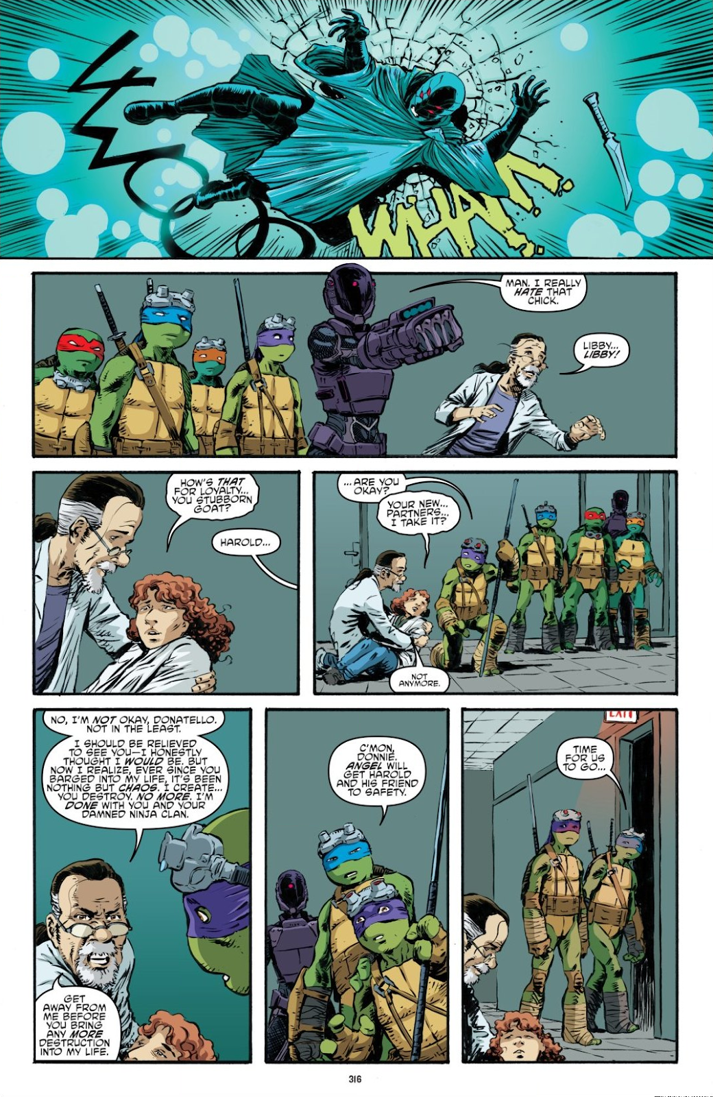 Read online Teenage Mutant Ninja Turtles: The IDW Collection comic -  Issue # TPB 7 (Part 3) - 107