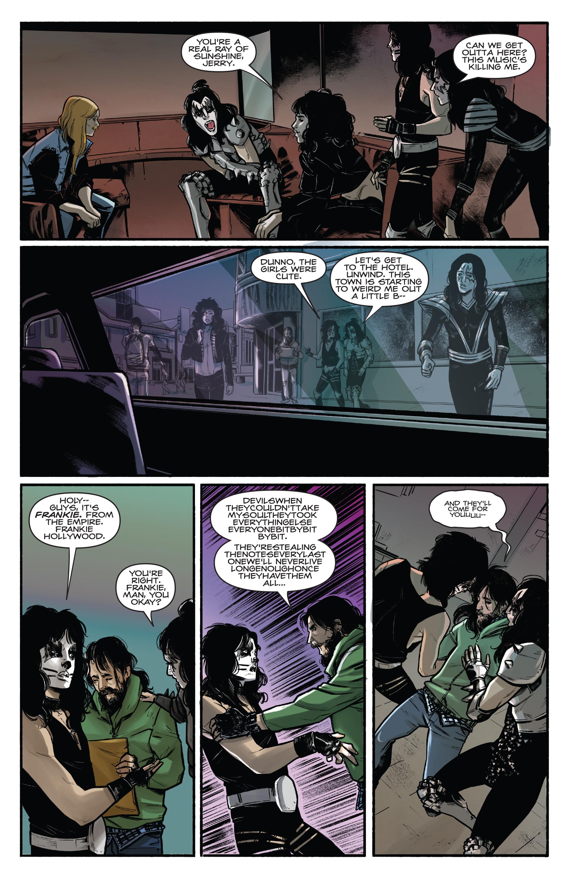 Read online Kiss/Vampirella comic -  Issue #1 - 19