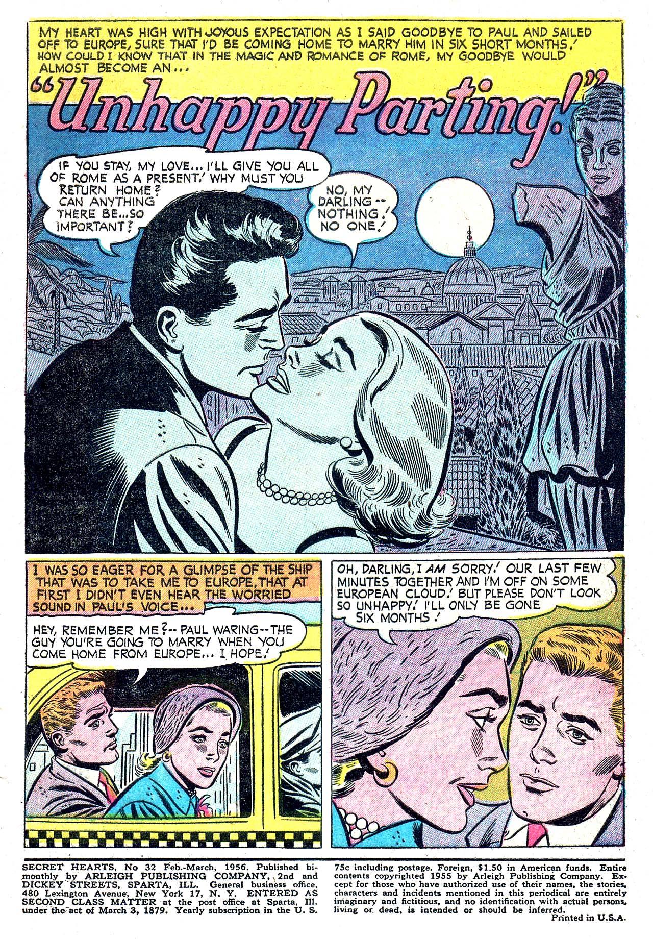 Read online Secret Hearts comic -  Issue #32 - 3