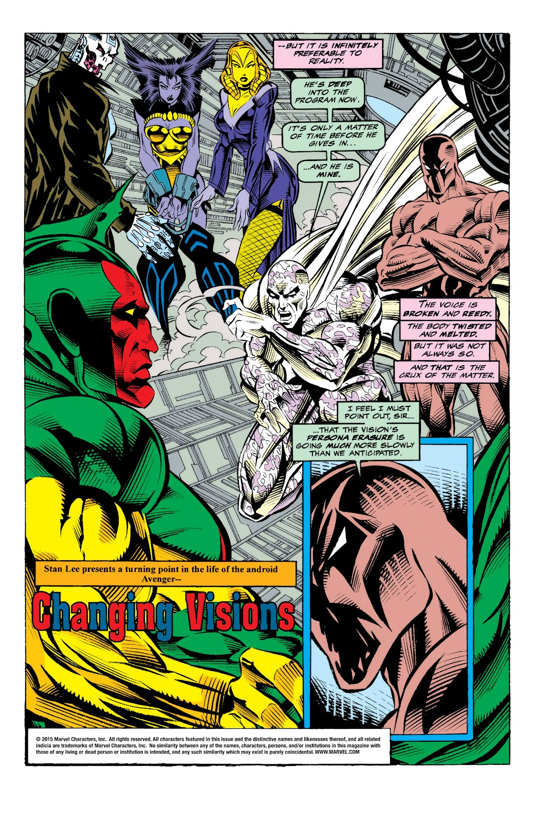 Read online The Vision comic -  Issue #4 - 3